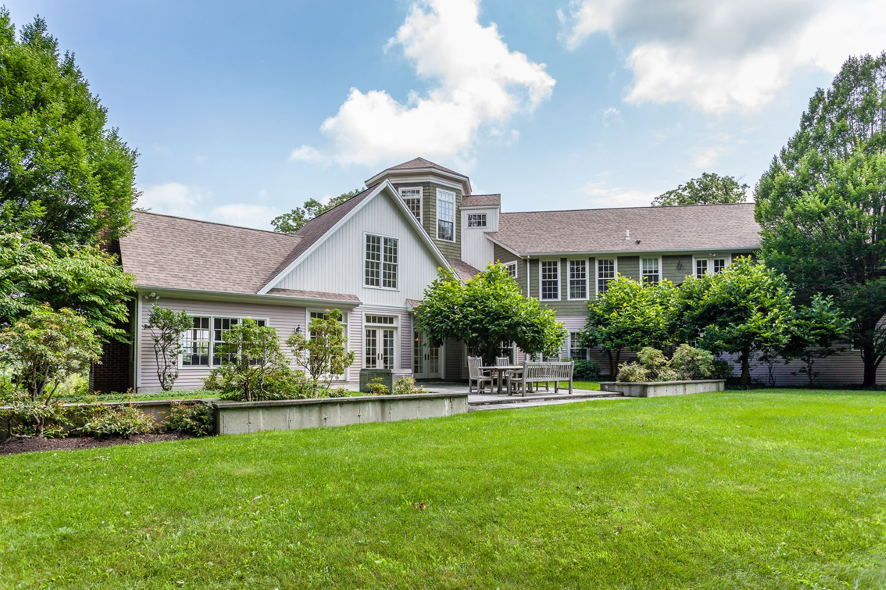 Single Family Homes for Active at Classic Shingle Style 2 Hubbell Ridge Road Sherman, Connecticut 06784 United States