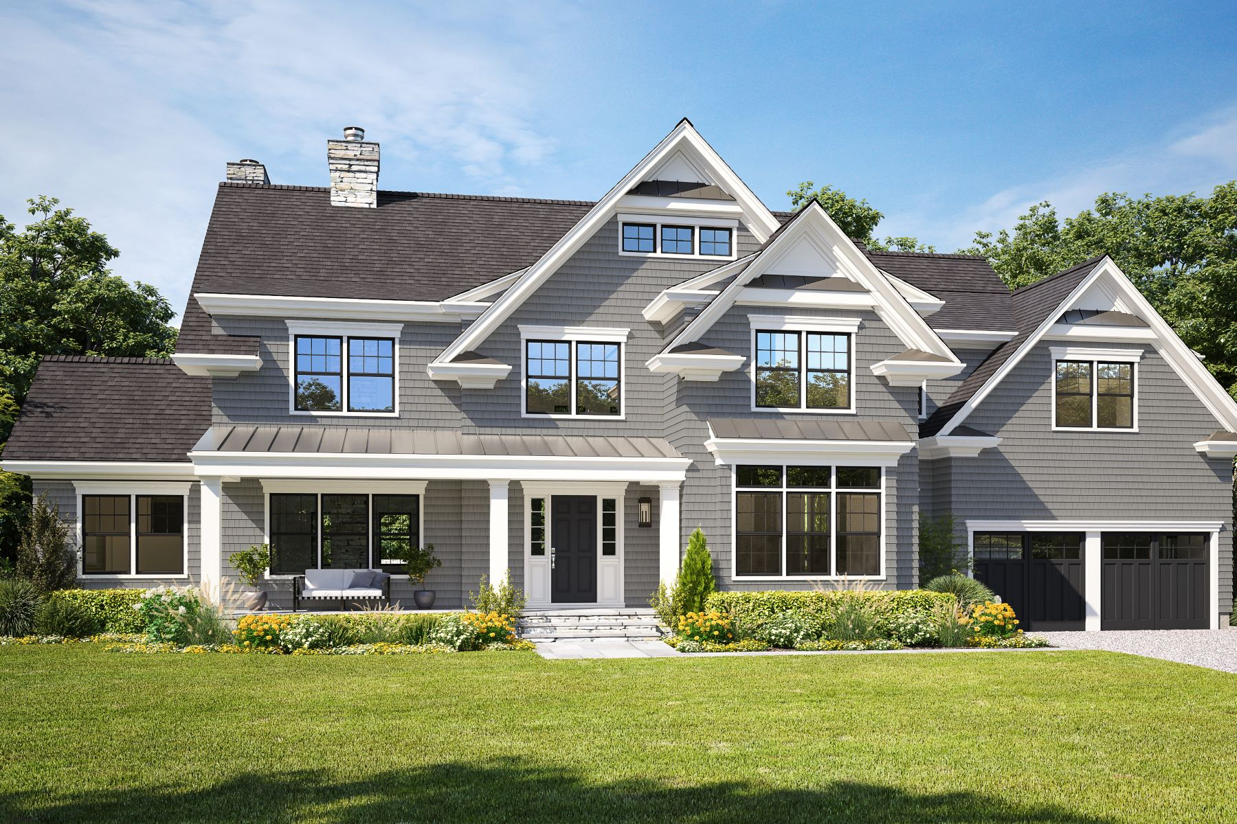 Single Family Homes for Active at 13 Eve Lane Rye, New York 10580 United States