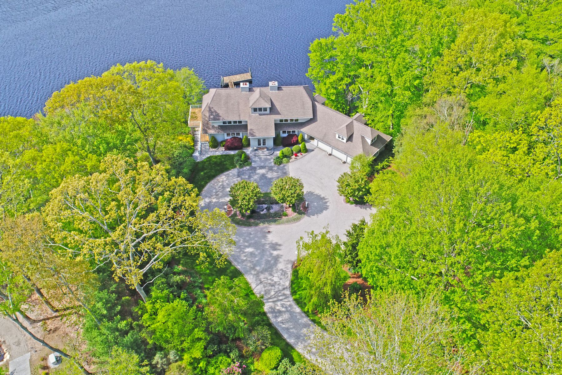Single Family Home for Sale at Exceptional Property With Deep Water Dock 59 Cove Rd Lyme, Connecticut, 06371 United States