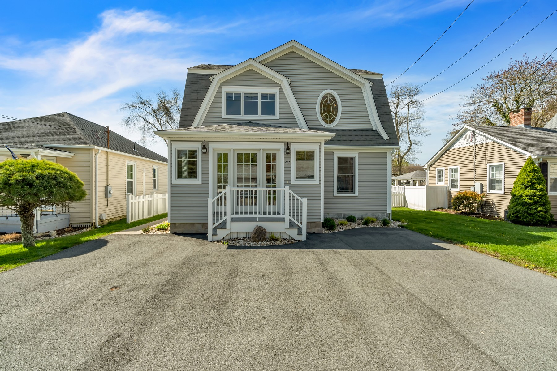 Single Family Homes for Sale at Beautifully Remodeled Home Located in Black Point Beach Community 42 Nehantic Dr East Lyme, Connecticut 06357 United States
