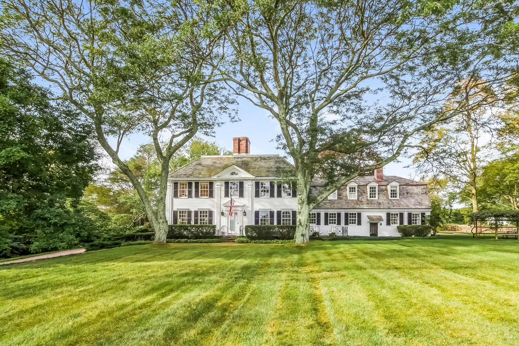 Vivienda unifamiliar por un Venta en Merry Meeting Farm 264 Taugwonk Road Stonington, Connecticut, 06378 Estados Unidos