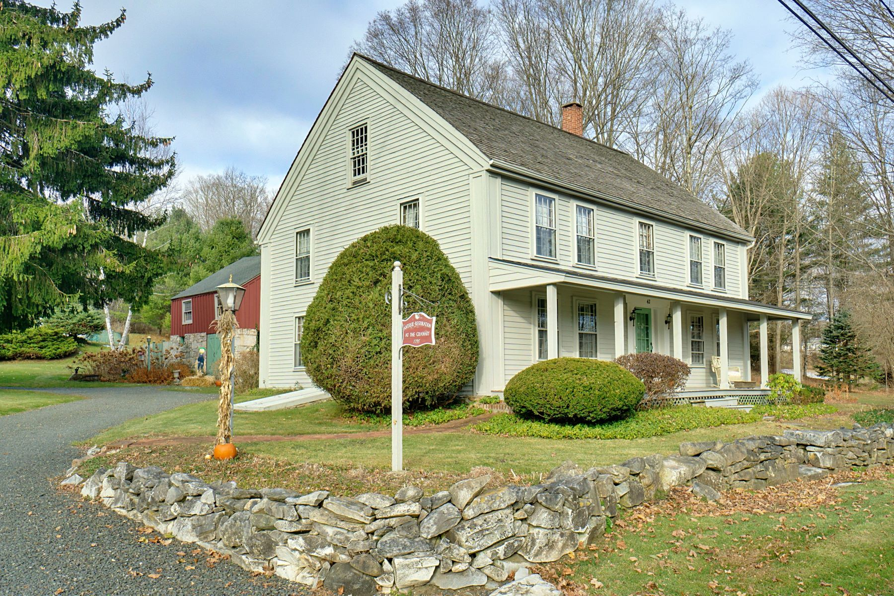 Single Family Homes for Sale at Charming Compound with a Stunning 1790 Farmhouse 42 Golden Hill Rd Lenox, Massachusetts 01240 United States