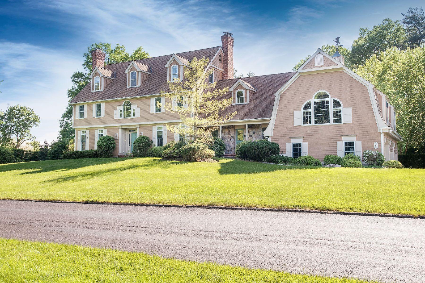 Частный односемейный дом для того Продажа на Davenport Farms 30 Davenport Farm Lane East Stamford, Коннектикут 06903 Соединенные Штаты