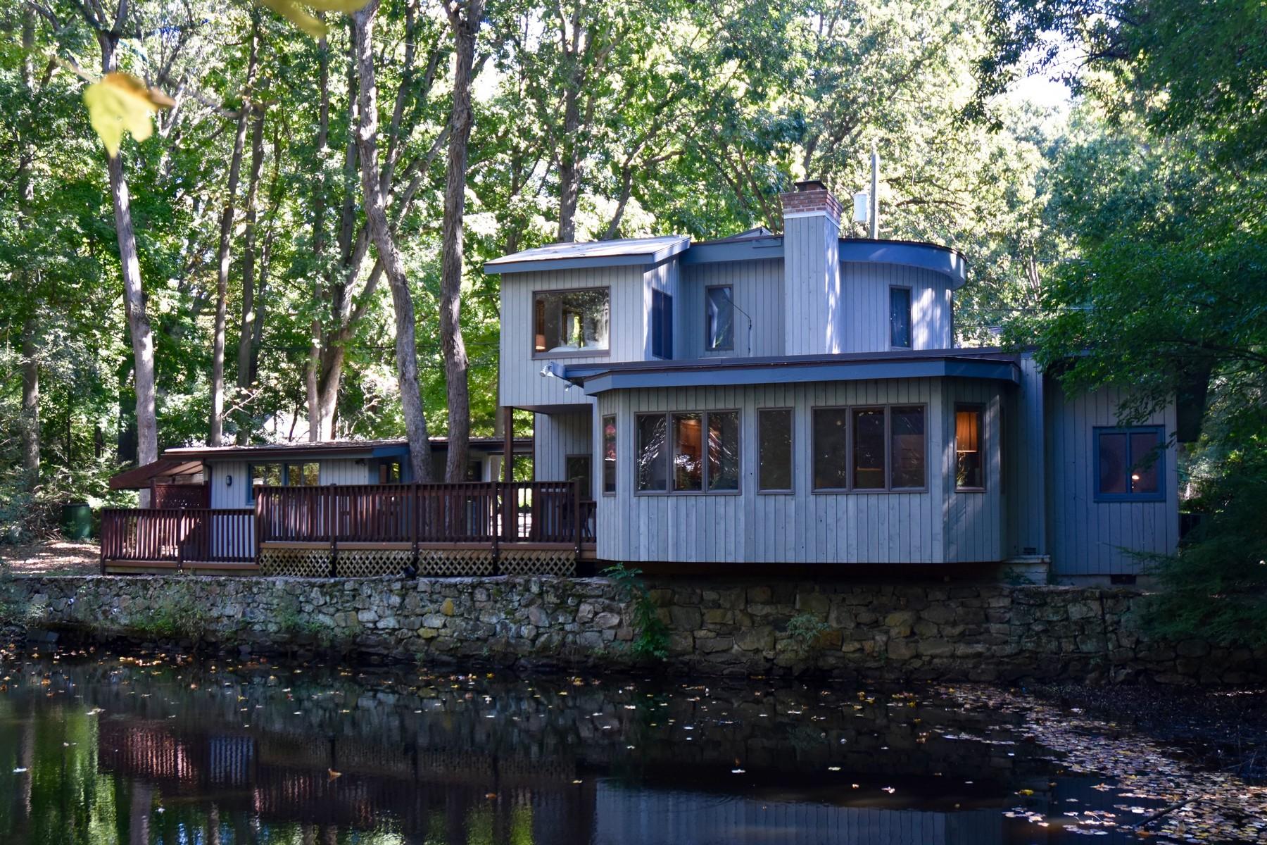 단독 가정 주택 용 매매 에 Mid Century Modern Bungalow 21 West View Lane Norwalk, 코네티컷, 06854 미국