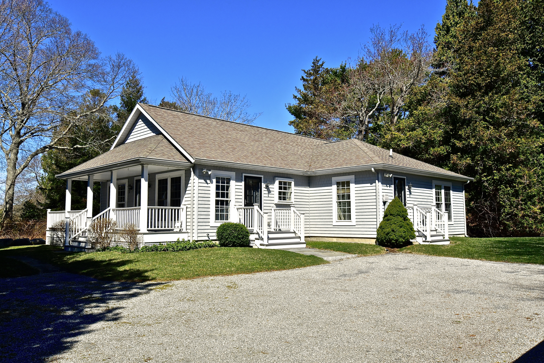 Single Family Homes for Sale at Private, Charming Home in Old Black Point 290 R Old Black Point Rd East Lyme, Connecticut 06357 United States