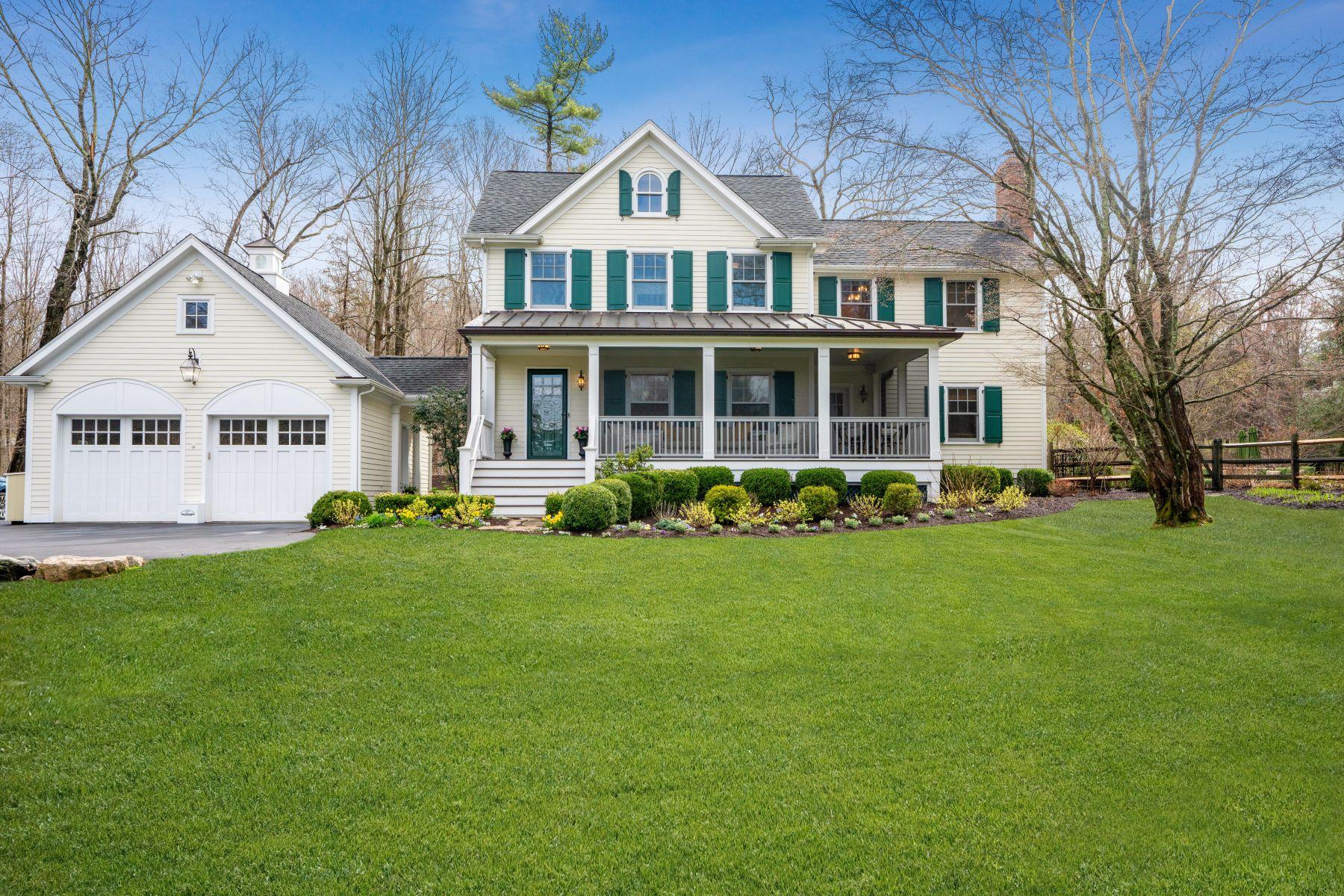 single family homes for Sale at Pristine Katonah Jewel 75 Quicks Lane Katonah, New York 10536 United States
