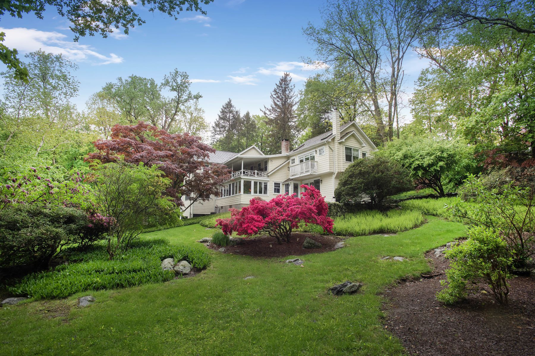 独户住宅 为 出租 在 1006 Silvermine Road 新迦南, 康涅狄格州, 06840 美国