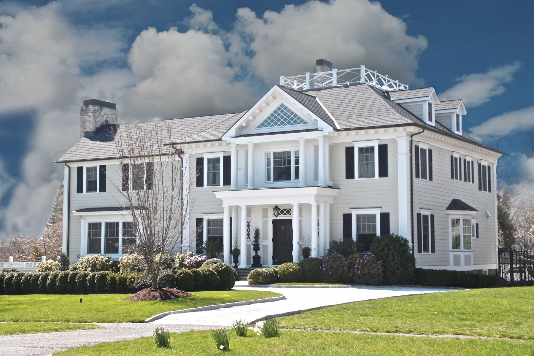 Single Family Home for Sale at Rowayton Masterpiece 41 Highland Avenue Norwalk, Connecticut 06853 United States