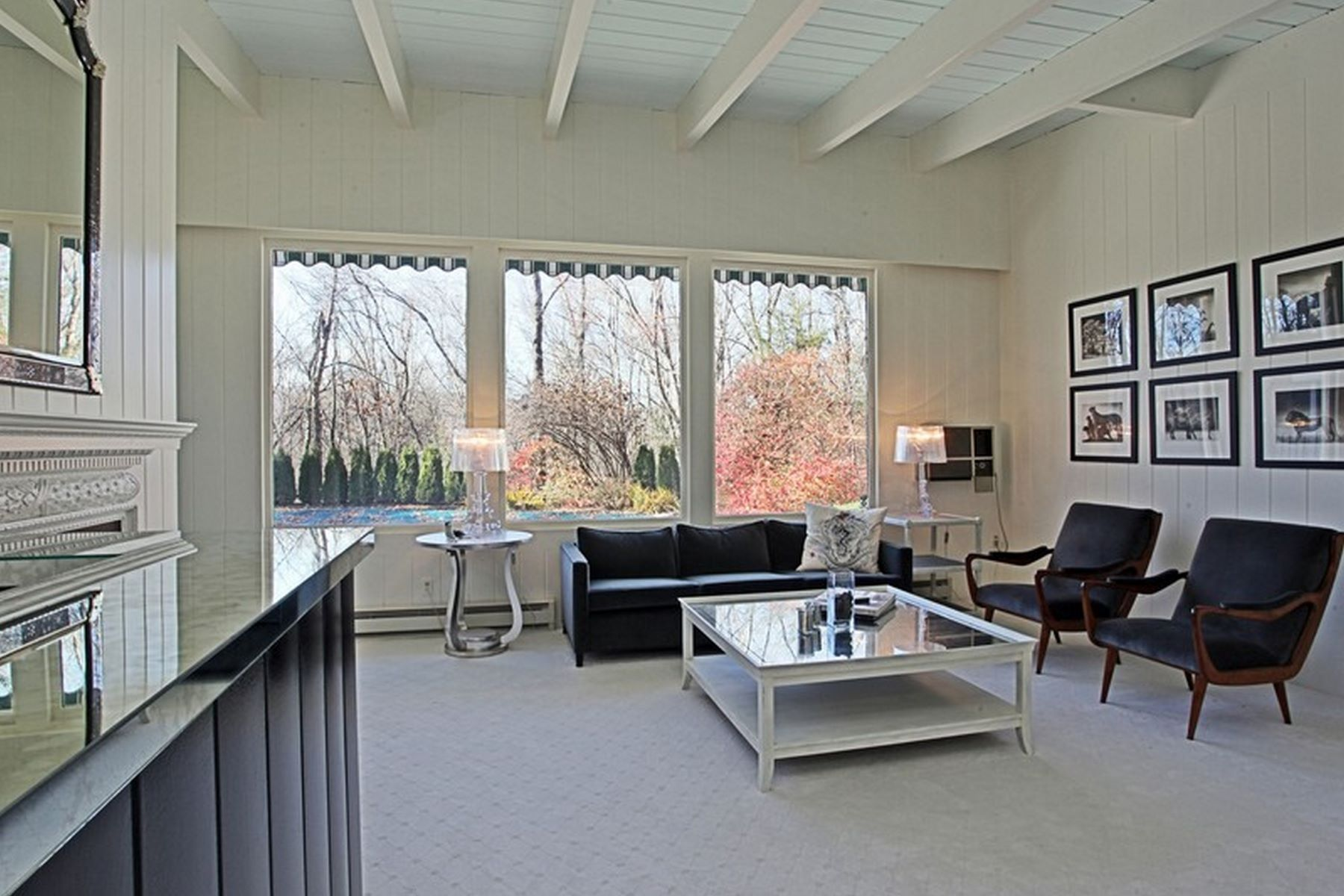 Additional photo for property listing at Sleek Mid-Century Modern 116 Wellers Bridge Road Roxbury, Connecticut 06783 United States
