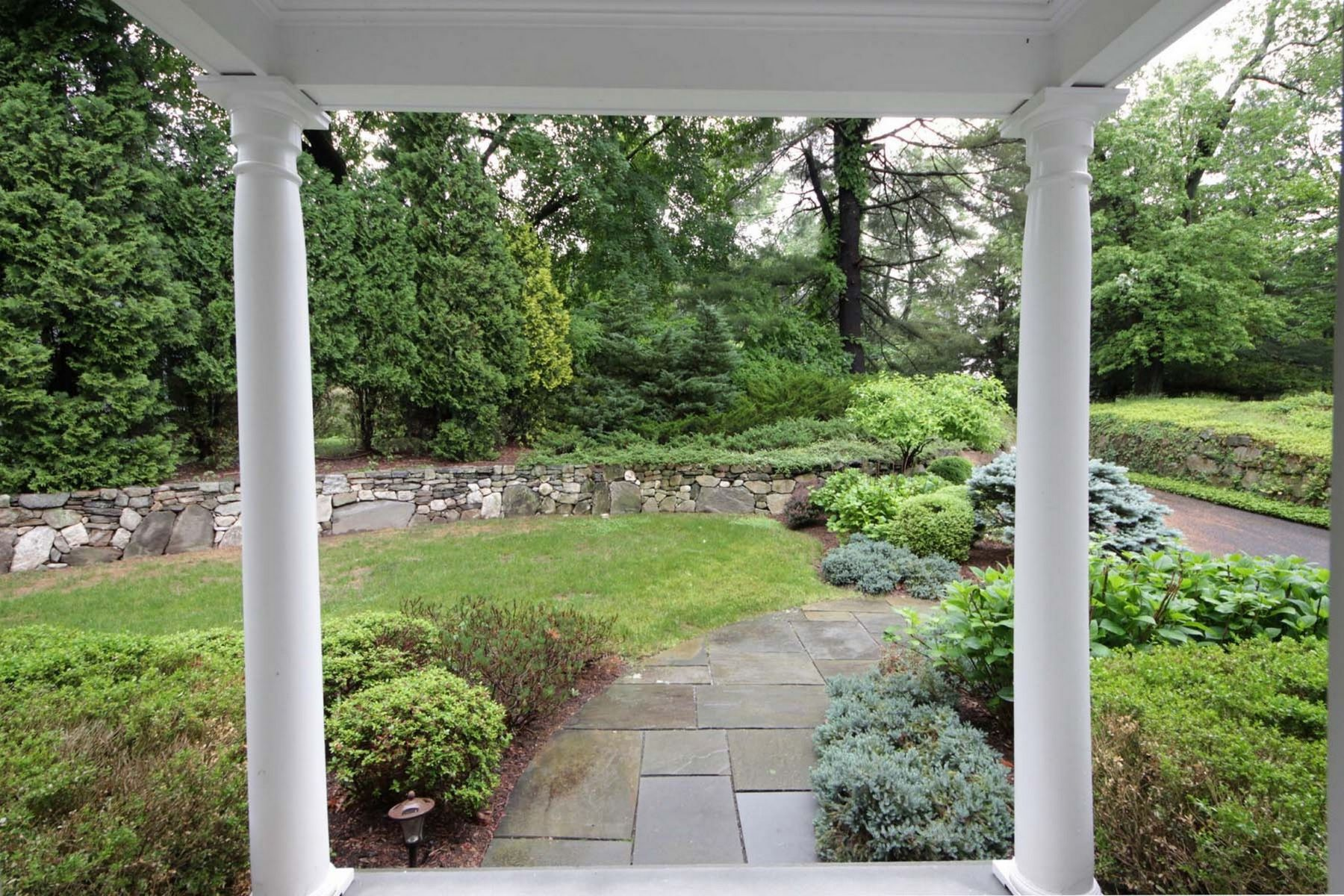 Single Family Homes for Sale at 5 Bedroom Colonial 188 West Hill Road Stamford, Connecticut 06902 United States