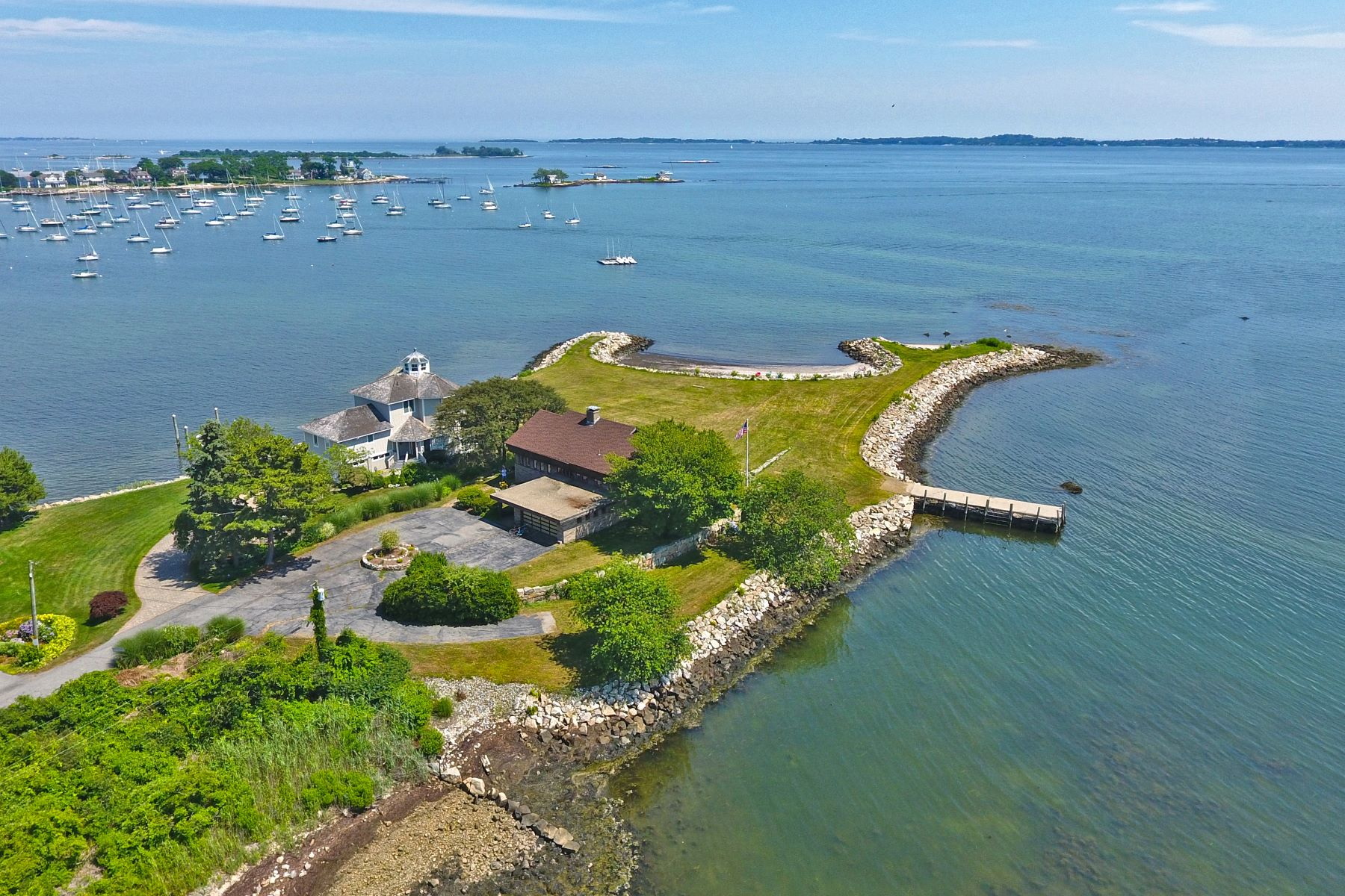 Single Family Home for Sale at Waterfront Sanctuary 940 Groton Long Point Road Groton, Connecticut 06340 United States