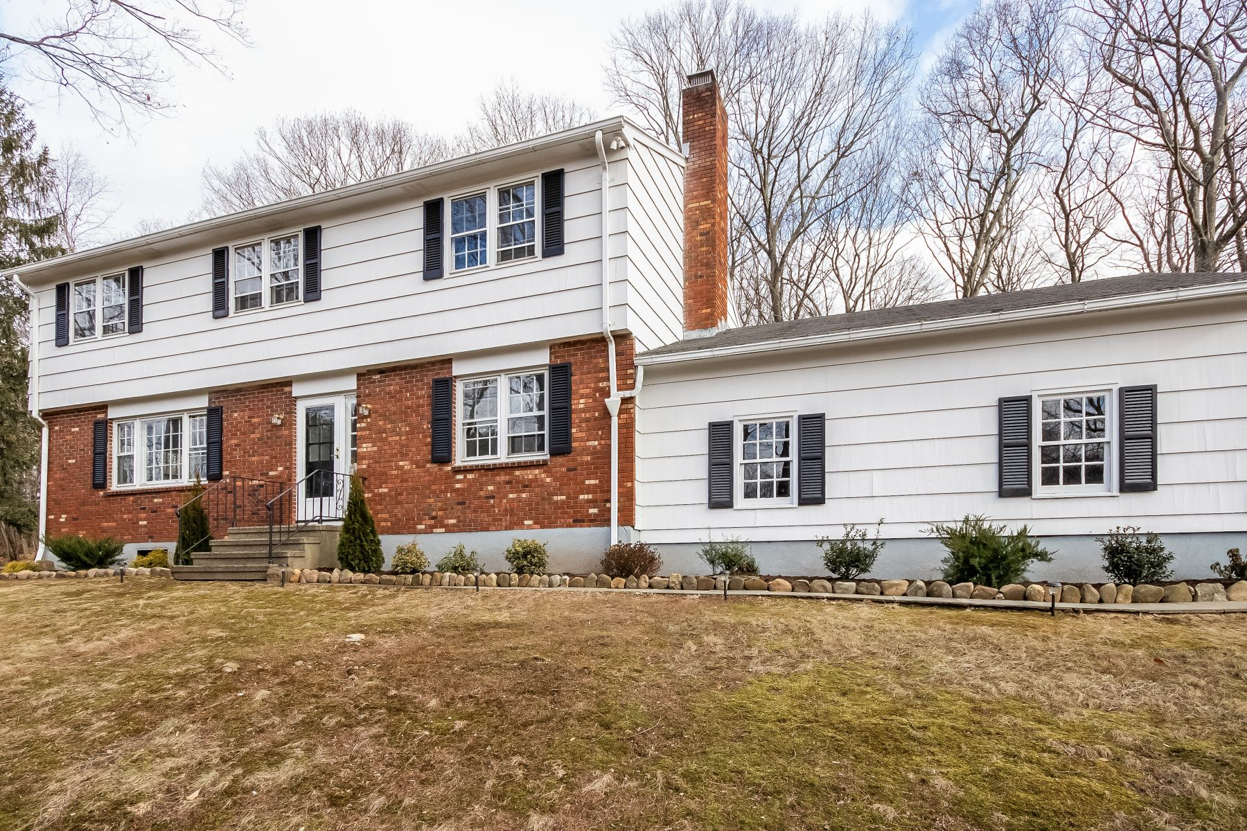 single family homes for Sale at Well Maintained 4 Bedroom Colonial Home 81 Midland Road, Trumbull, Connecticut 06611 United States