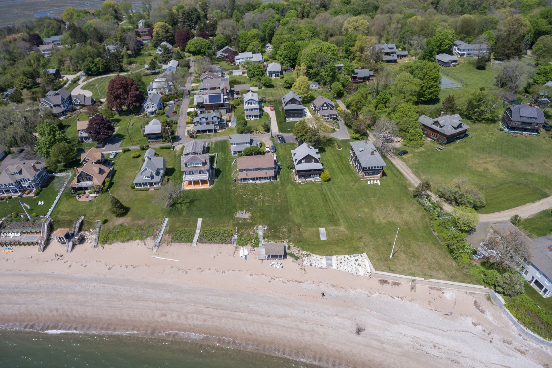 Single Family Home for Sale at Spectacular Hartford Ave Waterfront Setting- No flood ins. required 82 Hartford Avenue, Madison, Connecticut, 06443 United States