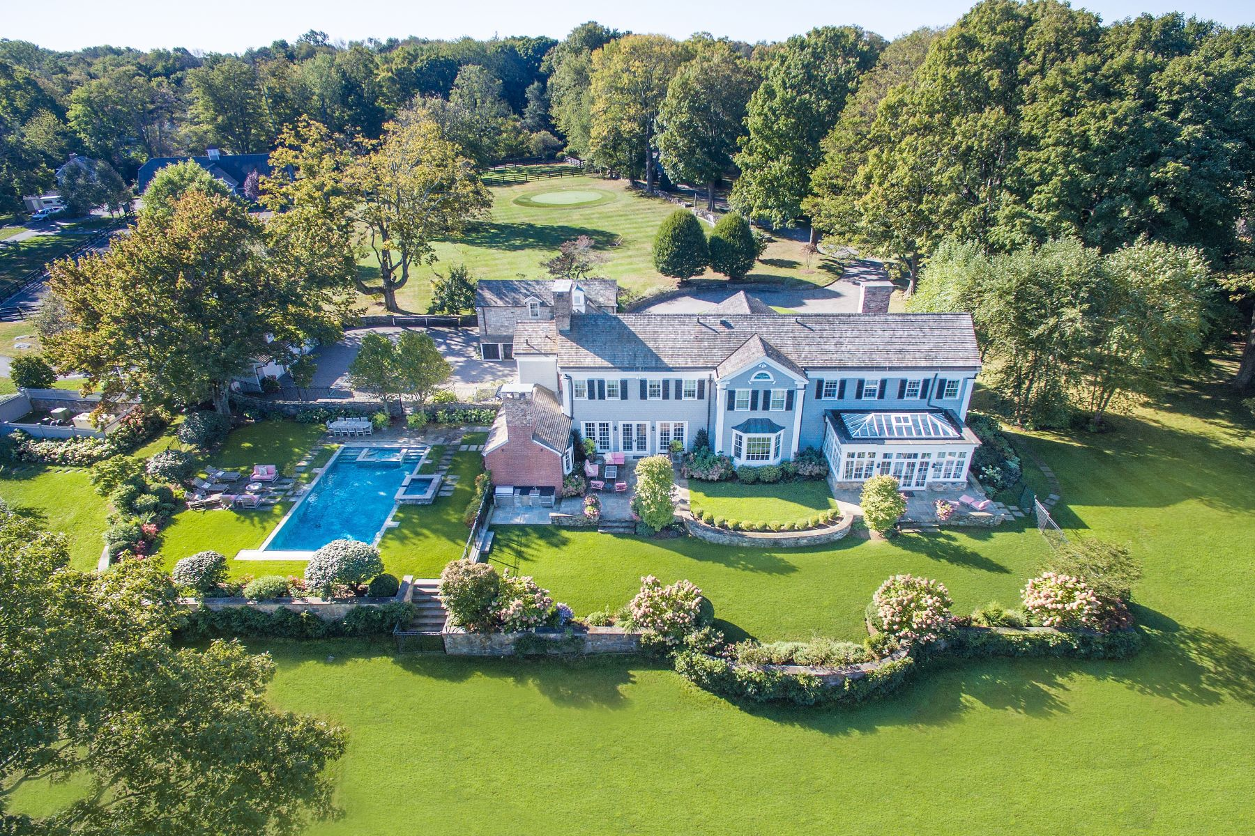 Farm / Ranch / Plantation for Sale at Orchard Hill Farm 384 West Lane Ridgefield, Connecticut 06877 United States