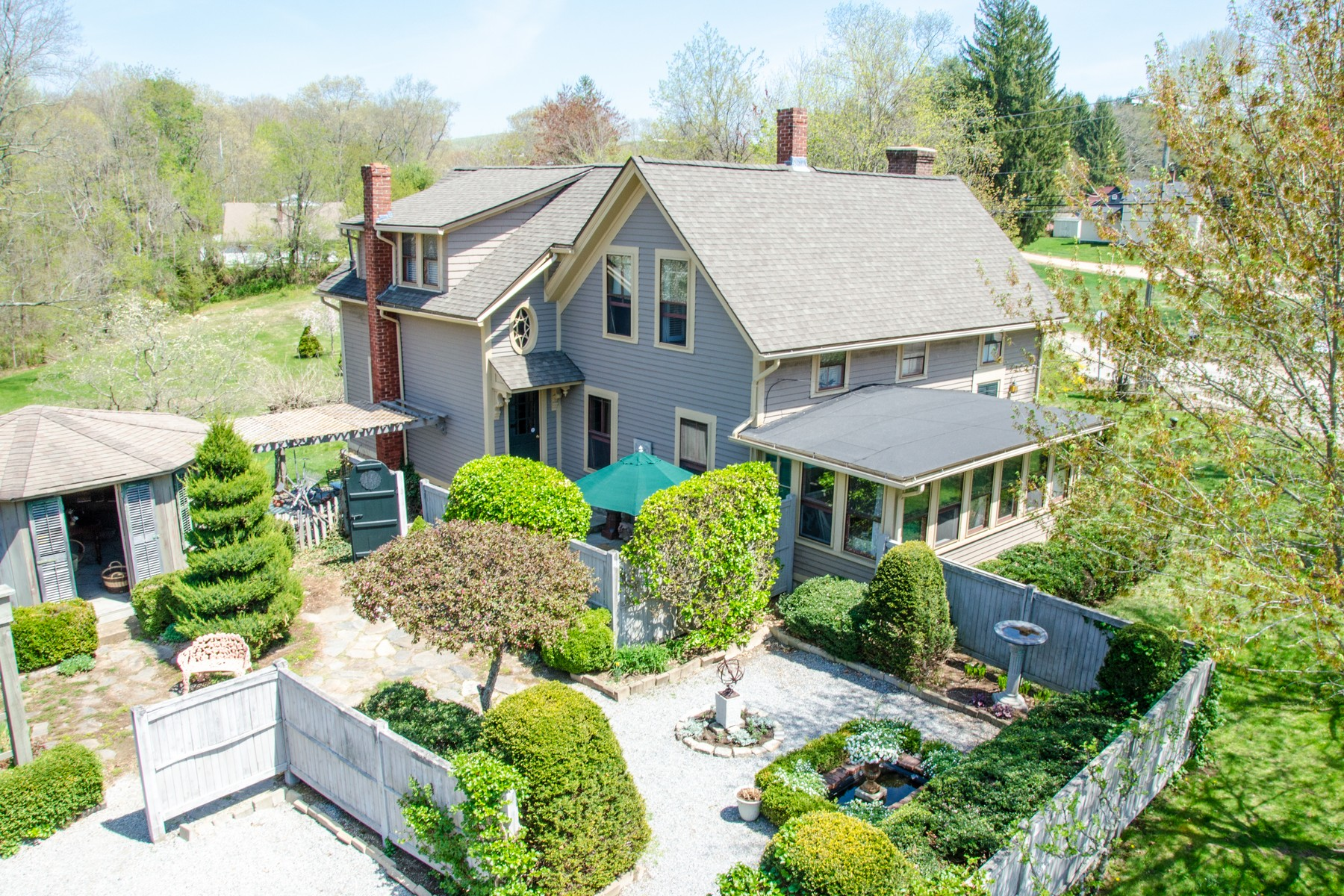 "Single Family Homes for Sale at ""Rattleberry Farm"" A Compound in the Hadlyme Village 1-5 Town Street Lyme, Connecticut 06439 United States"