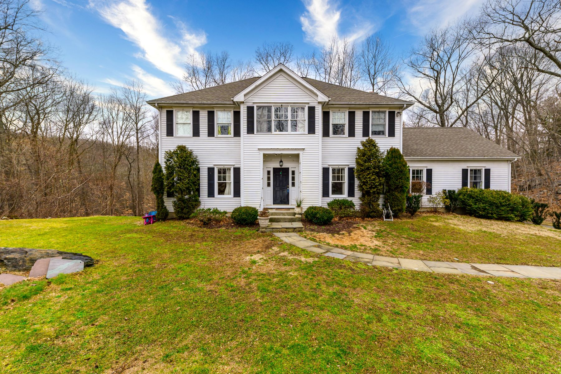 Single Family Homes for Active at 4 Bedroom Colonial 47 Chessor Lane Wilton, Connecticut 06897 United States