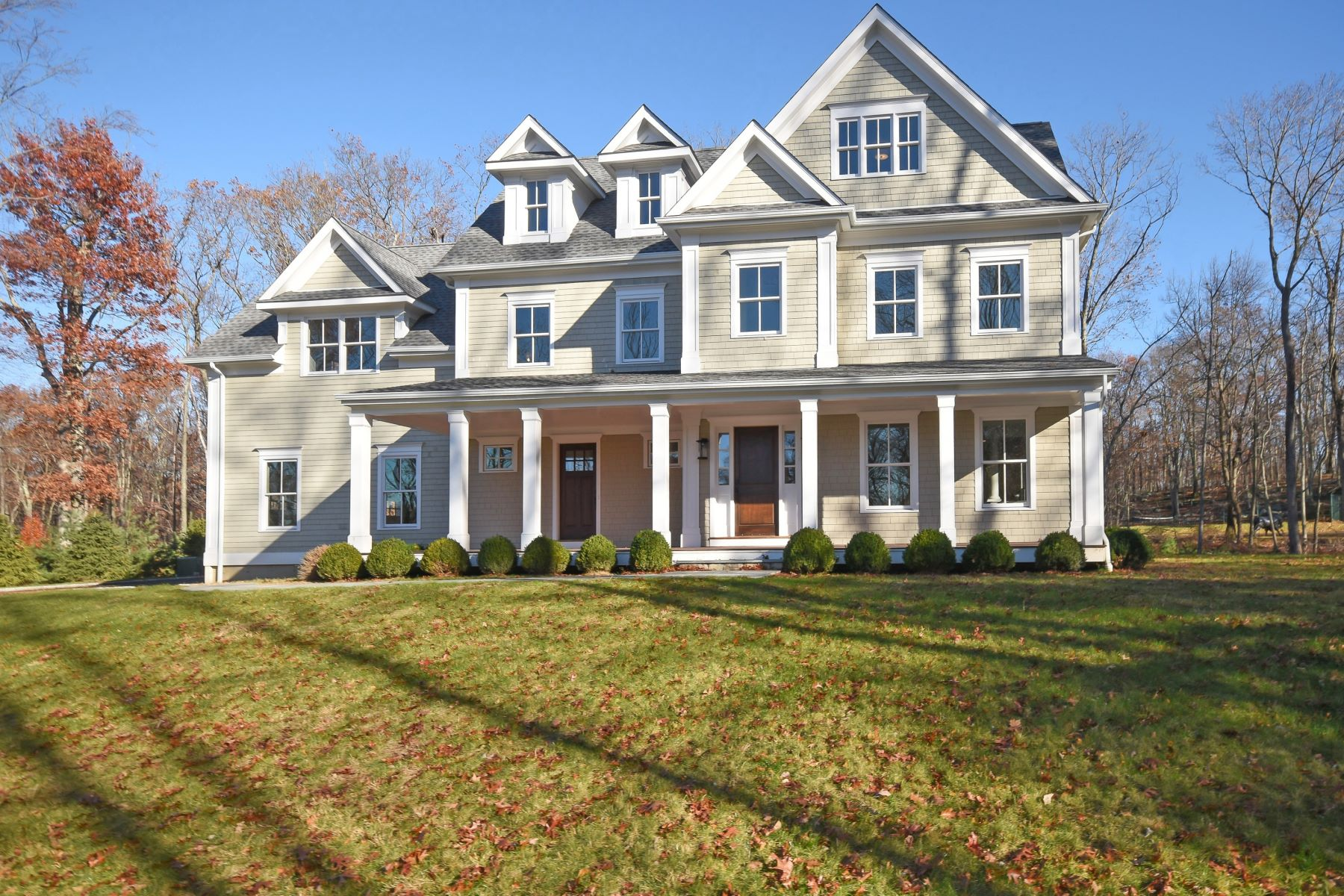 Single Family Home for Sale at Singing Oaks Neighborhood 24 Hillcrest Lane Weston, Connecticut 06883 United States