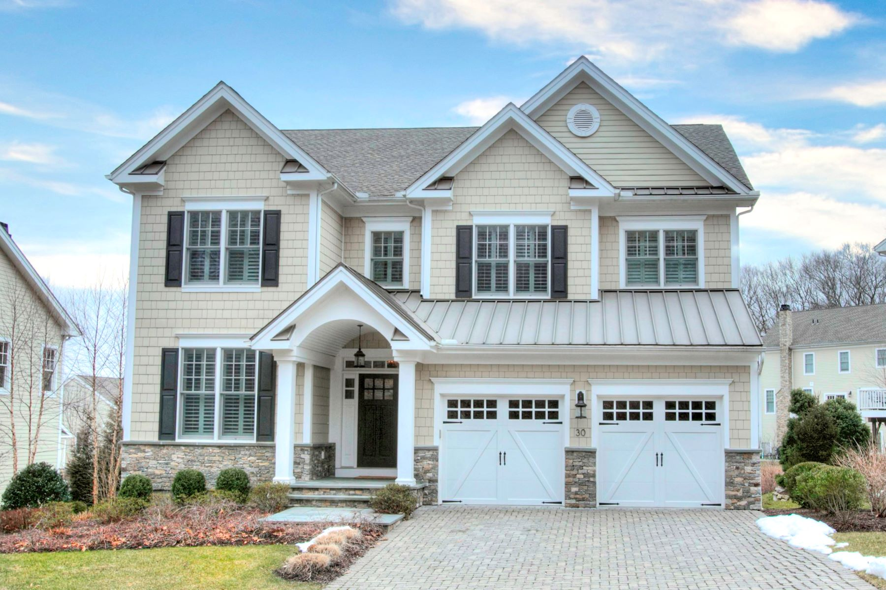 Single Family Homes for Active at 30 River Ridge Lane Wilton, Connecticut 06897 United States