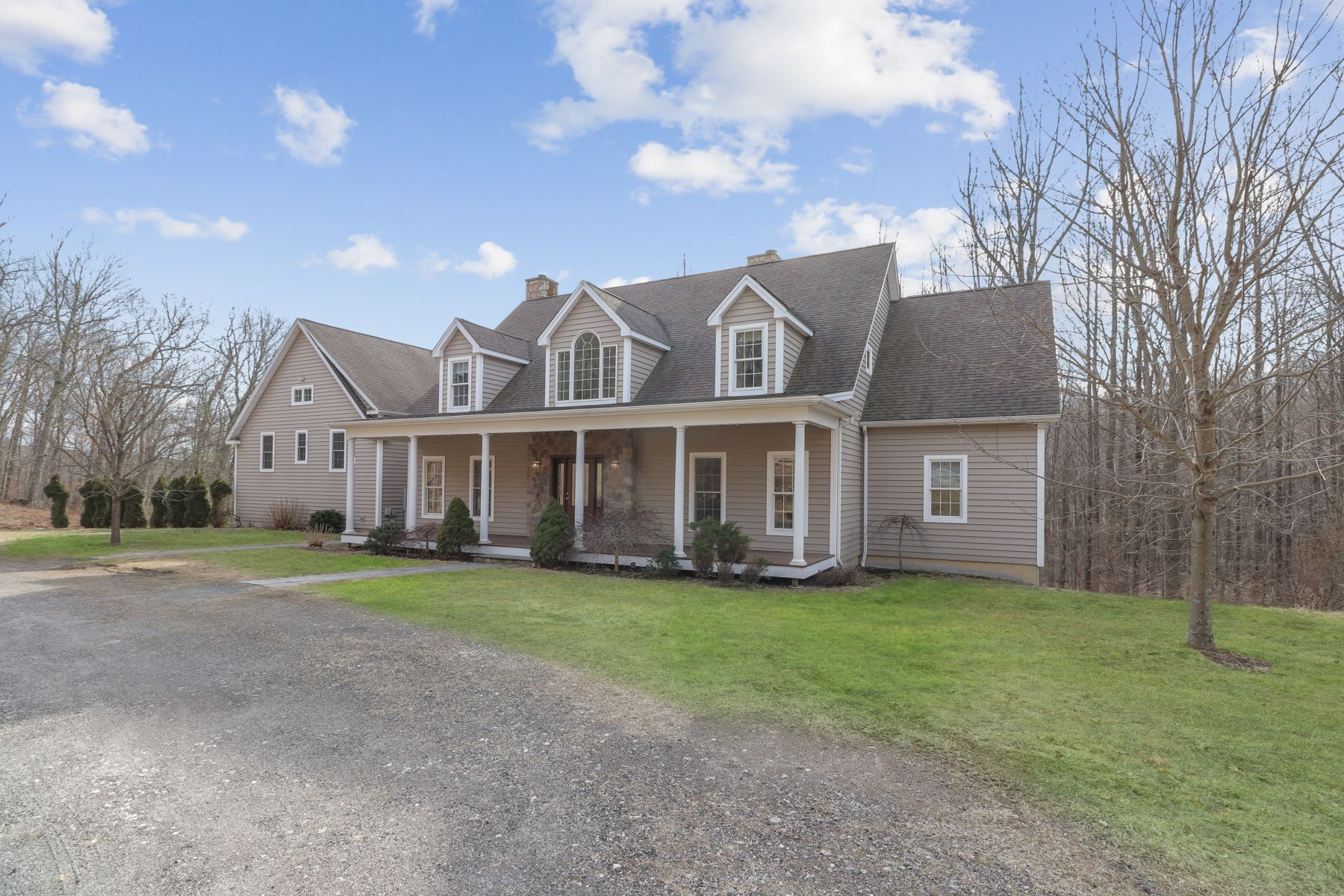 Single Family Homes for Sale at Well Maintained Colonial 3 Pound Sweet Hill, Bethel, Connecticut 06801 United States