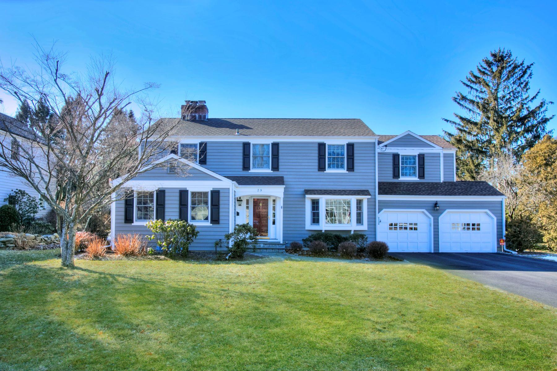 Частный односемейный дом для того Аренда на 39 Southwood Drive New Canaan, Коннектикут, 06840 Соединенные Штаты