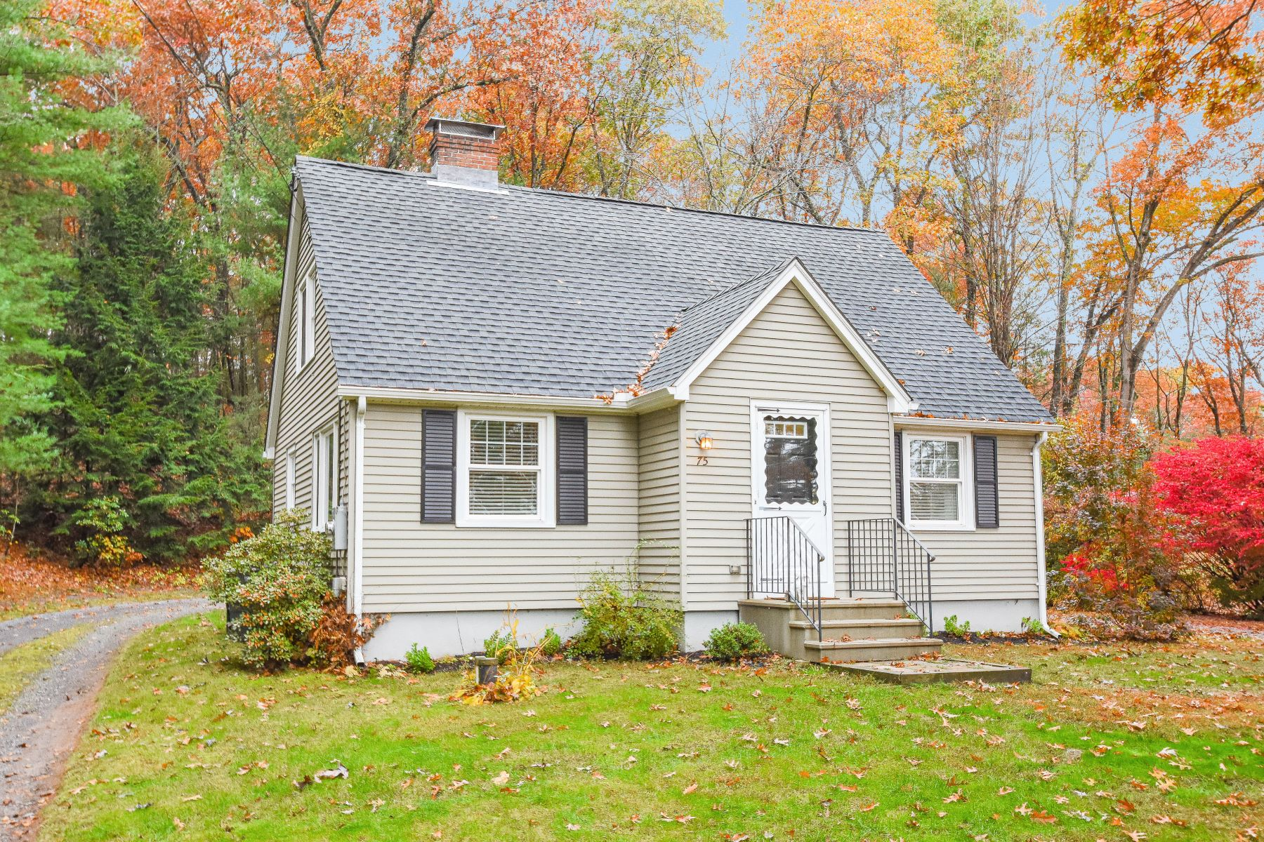 Single Family Homes for Sale at Granby, Connecticut 06035 United States