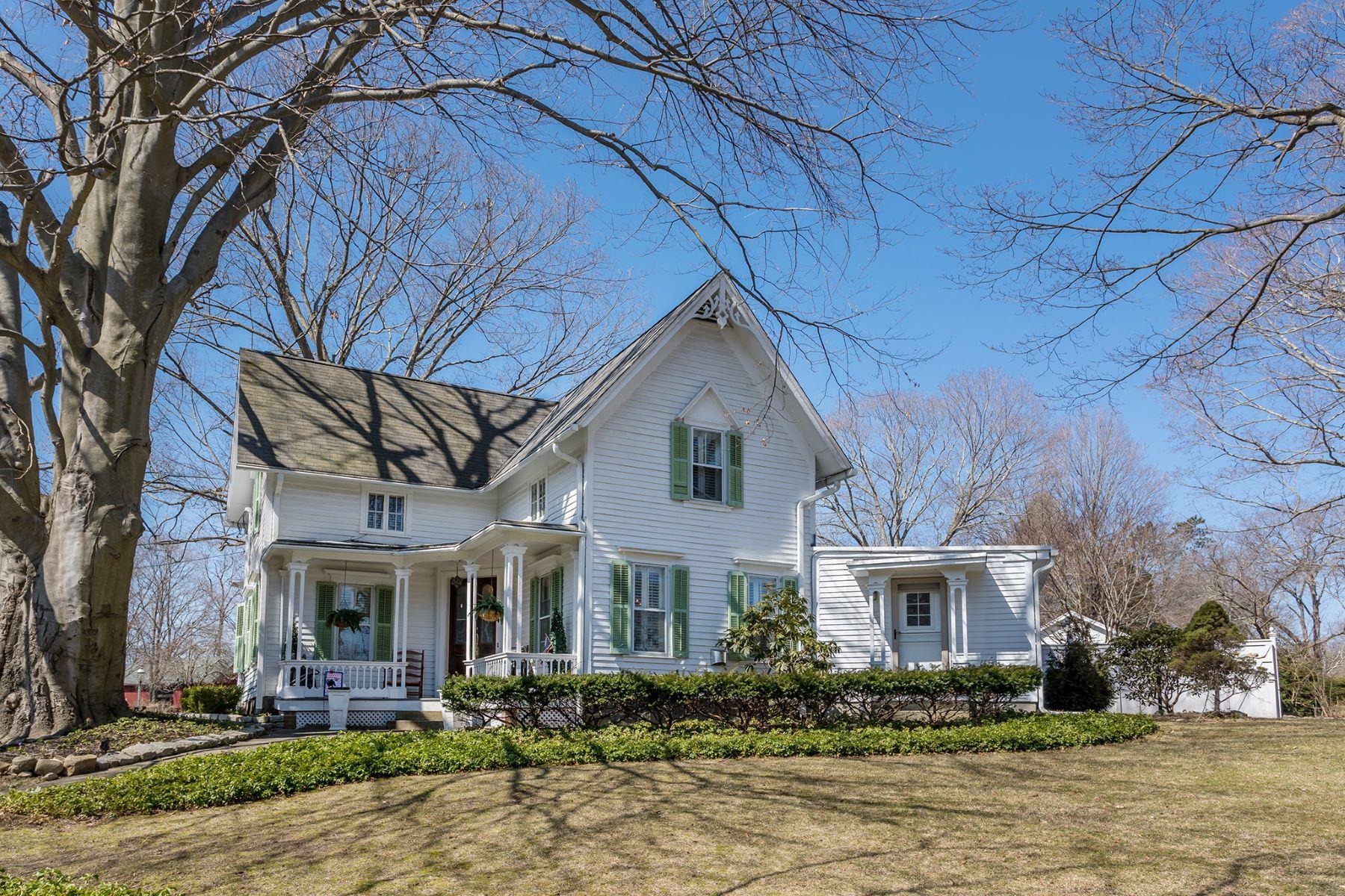 Eensgezinswoning voor Verkoop op Enchanting Victorian 42 Main Street South, Woodbury, Connecticut 06798 Verenigde Staten