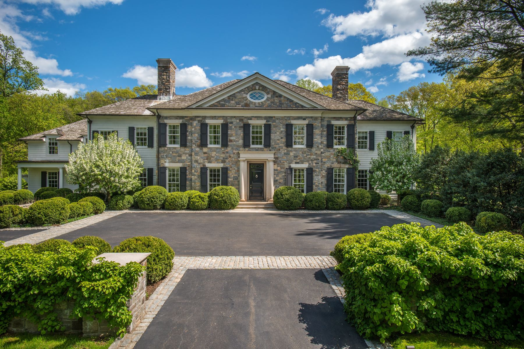Single Family Homes for Active at 33 Sunset Hill Road New Canaan, Connecticut 06840 United States