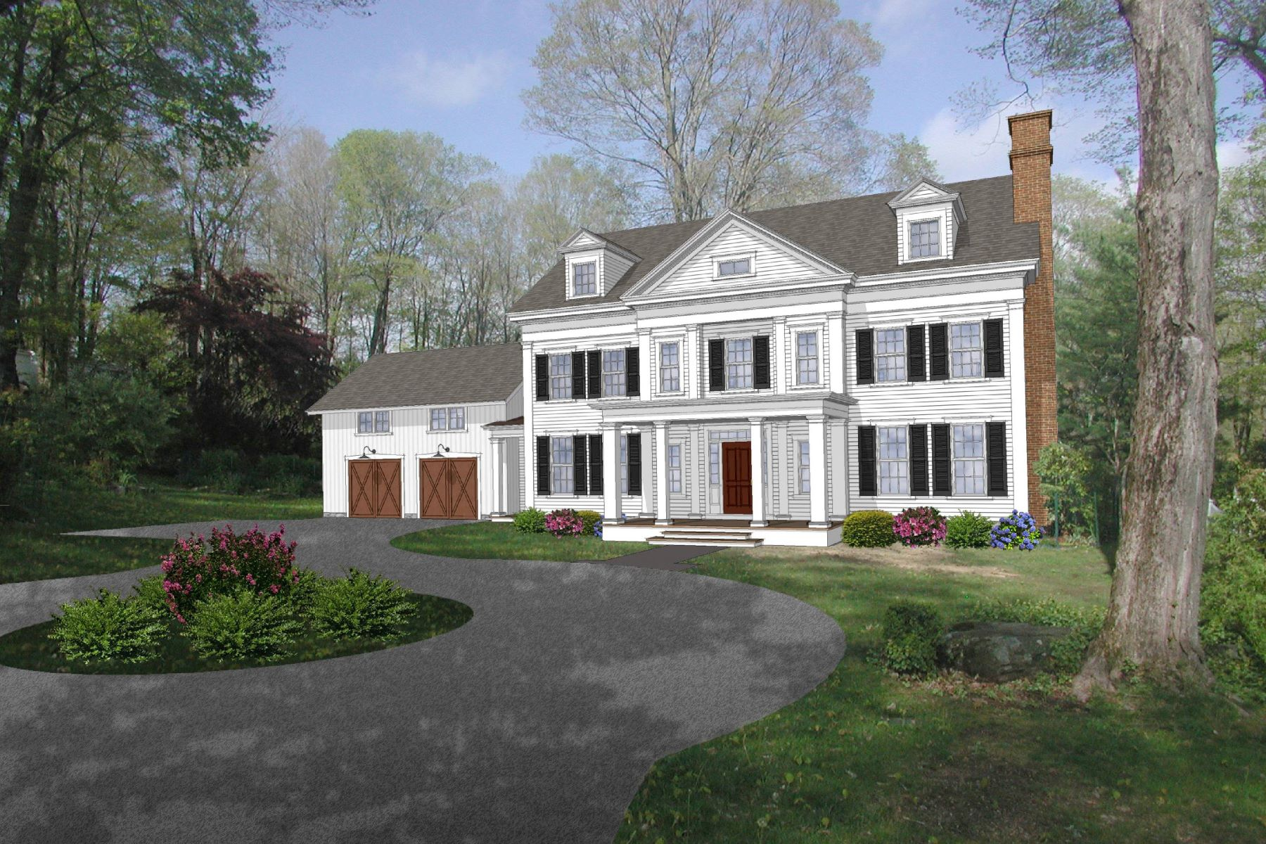 Casa Unifamiliar por un Venta en Choose from 3 Remaining Lots Lot2,6,7 Bennetts Farm Road Ridgefield, Connecticut 06877 Estados Unidos