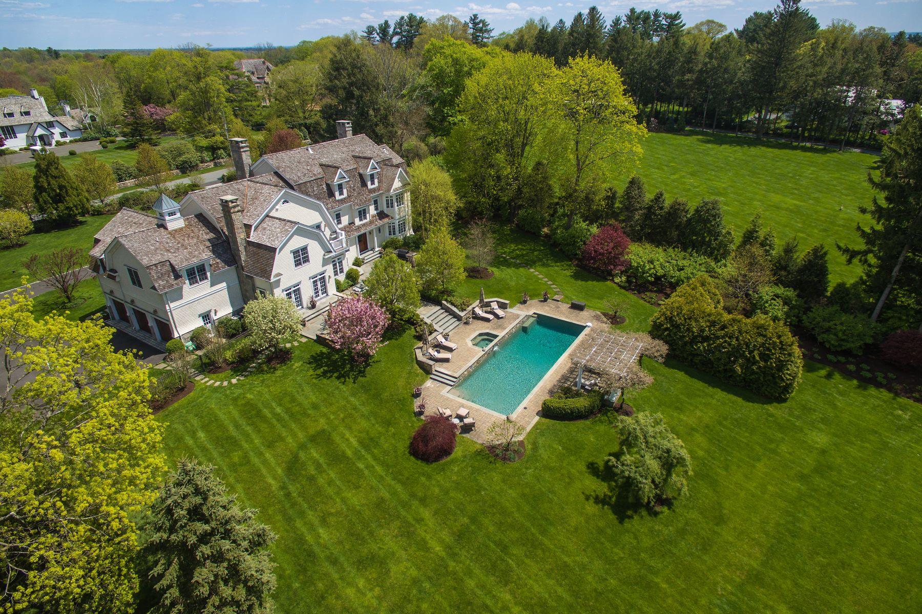 Single Family Homes για την Πώληση στο New Canaan, Κονεκτικατ 06840 Ηνωμένες Πολιτείες