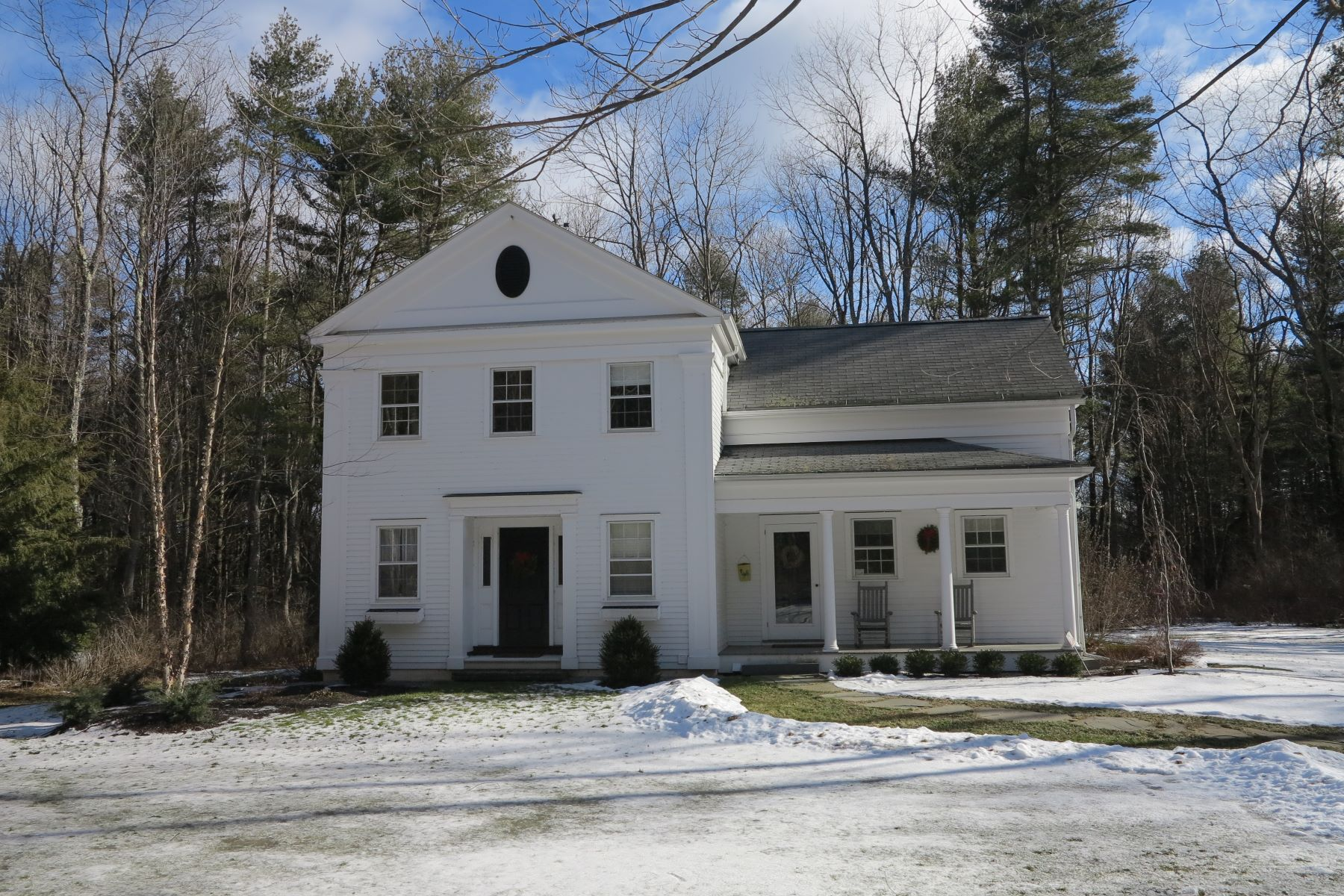 Single Family Home for Sale at Classic Reproduction Greek Revival 355 South Undermountain Rd Sheffield, Massachusetts 01257 United States