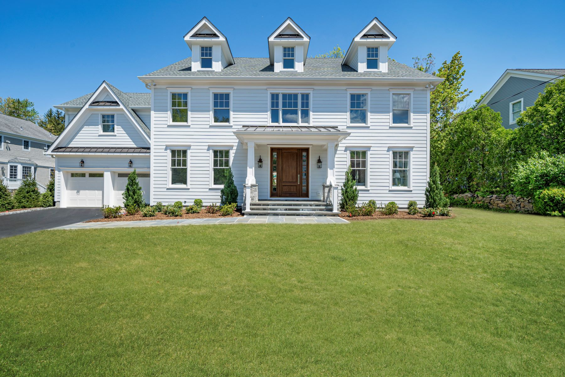 Single Family Homes for Active at Exceptional New Construction 11 Windmill Lane Scarsdale, New York 10583 United States