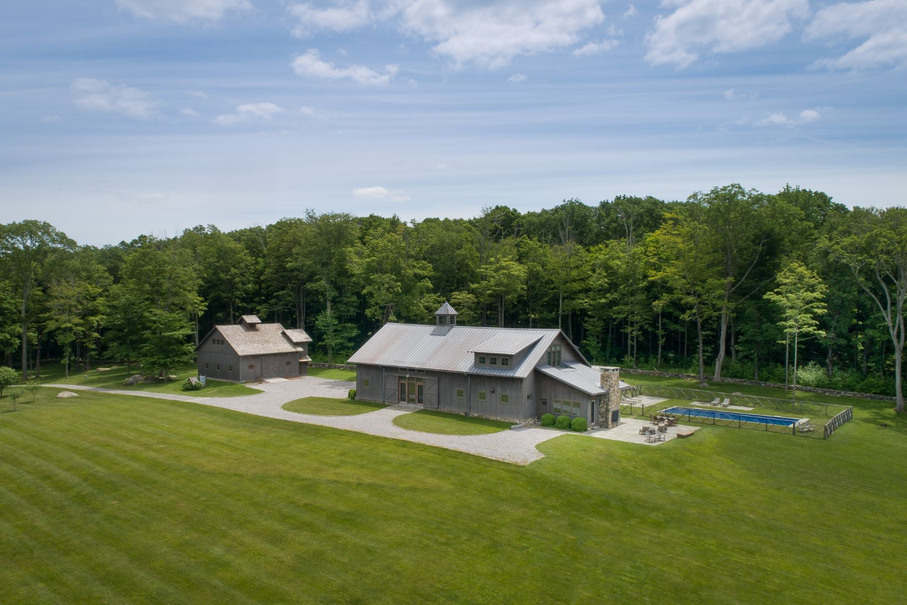 Single Family Homes for Active at Private Modern Escape 115 Shearer Road Washington, Connecticut 06793 United States