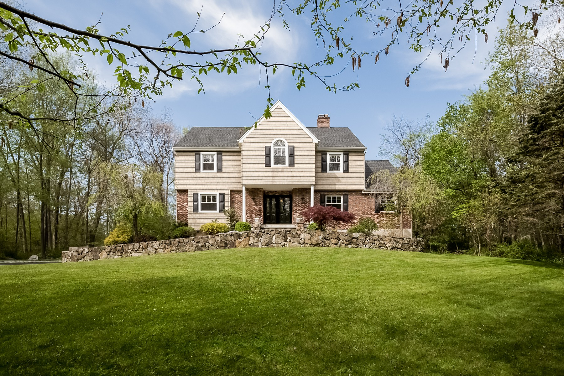 Single Family Home for Sale at Captivating Home in Pleasantview Estates 70 Keeler Drive, Ridgefield, Connecticut, 06877 United States