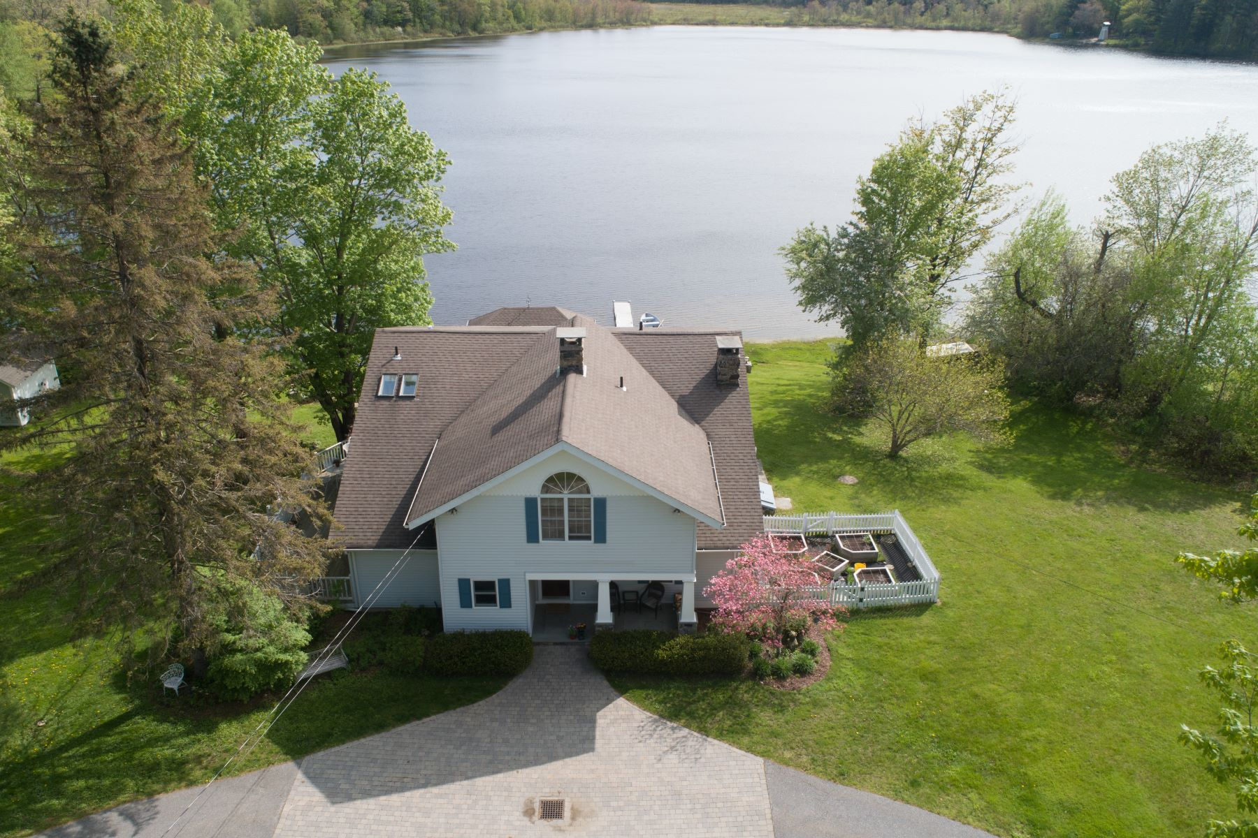Single Family Homes for Sale at Waterfront Retreat 360 Westside Road, Goshen, Connecticut 06756 United States