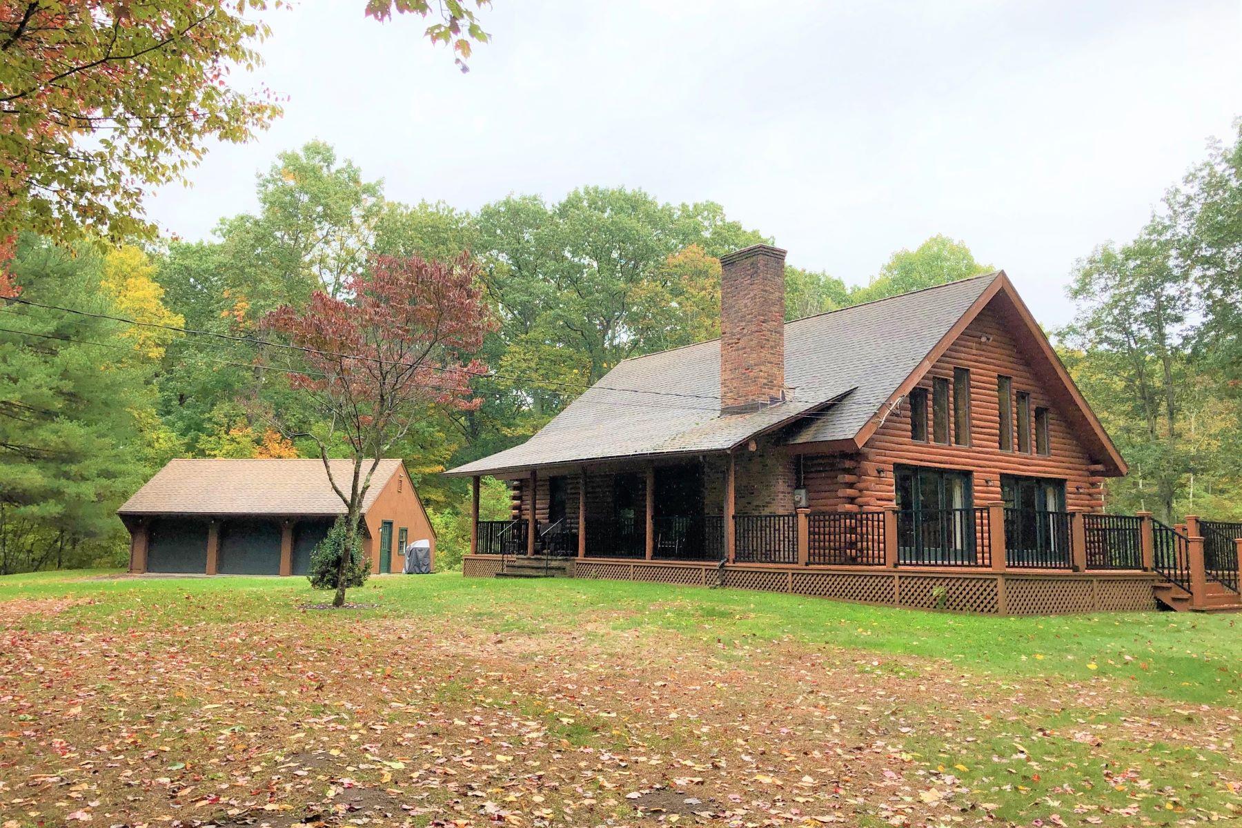 Single Family Homes för Försäljning vid Peaceful Retreat 53 Swaller Hill Road, Sharon, Connecticut 06069 Förenta staterna
