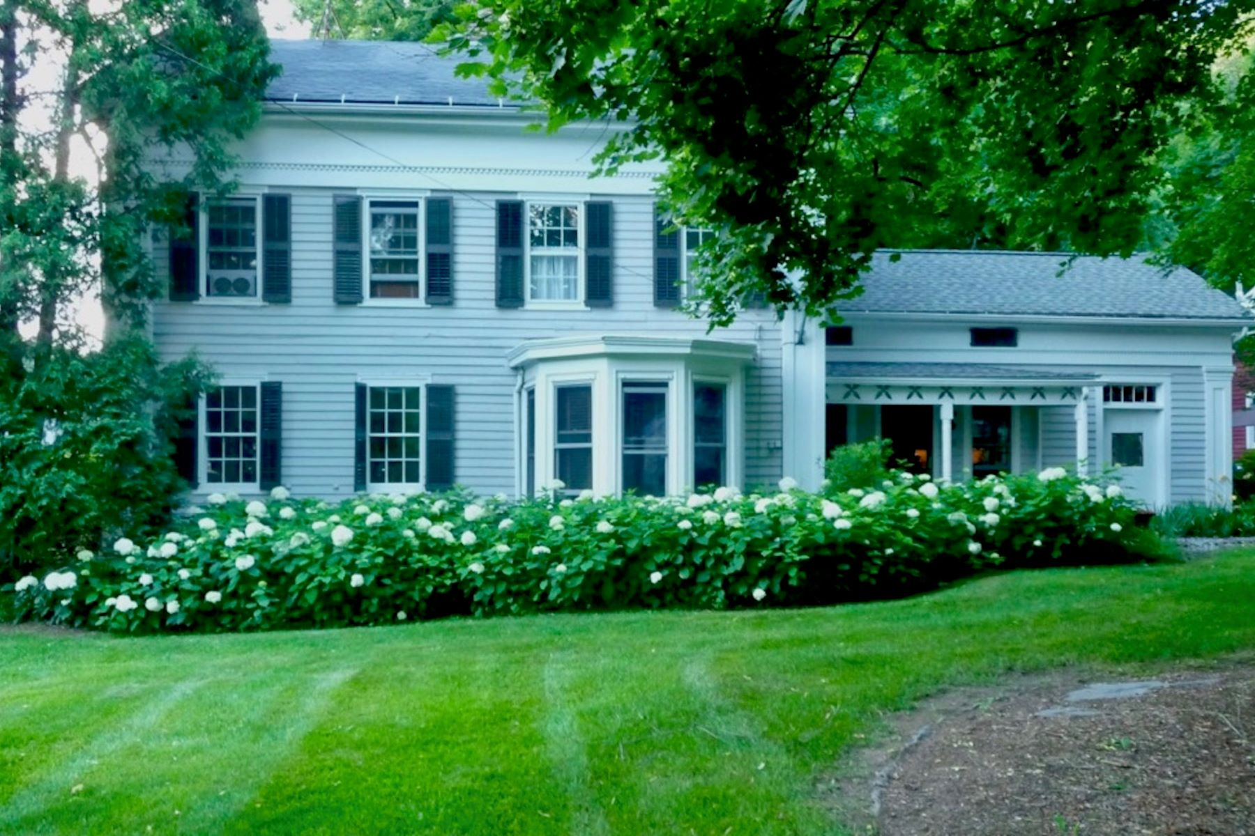 Single Family Homes for Sale at A Beautiful Country Colonial Greek Revival Home In The Heart of Village Living 824 Mill River Southfield Rd New Marlborough, Massachusetts 01230 United States