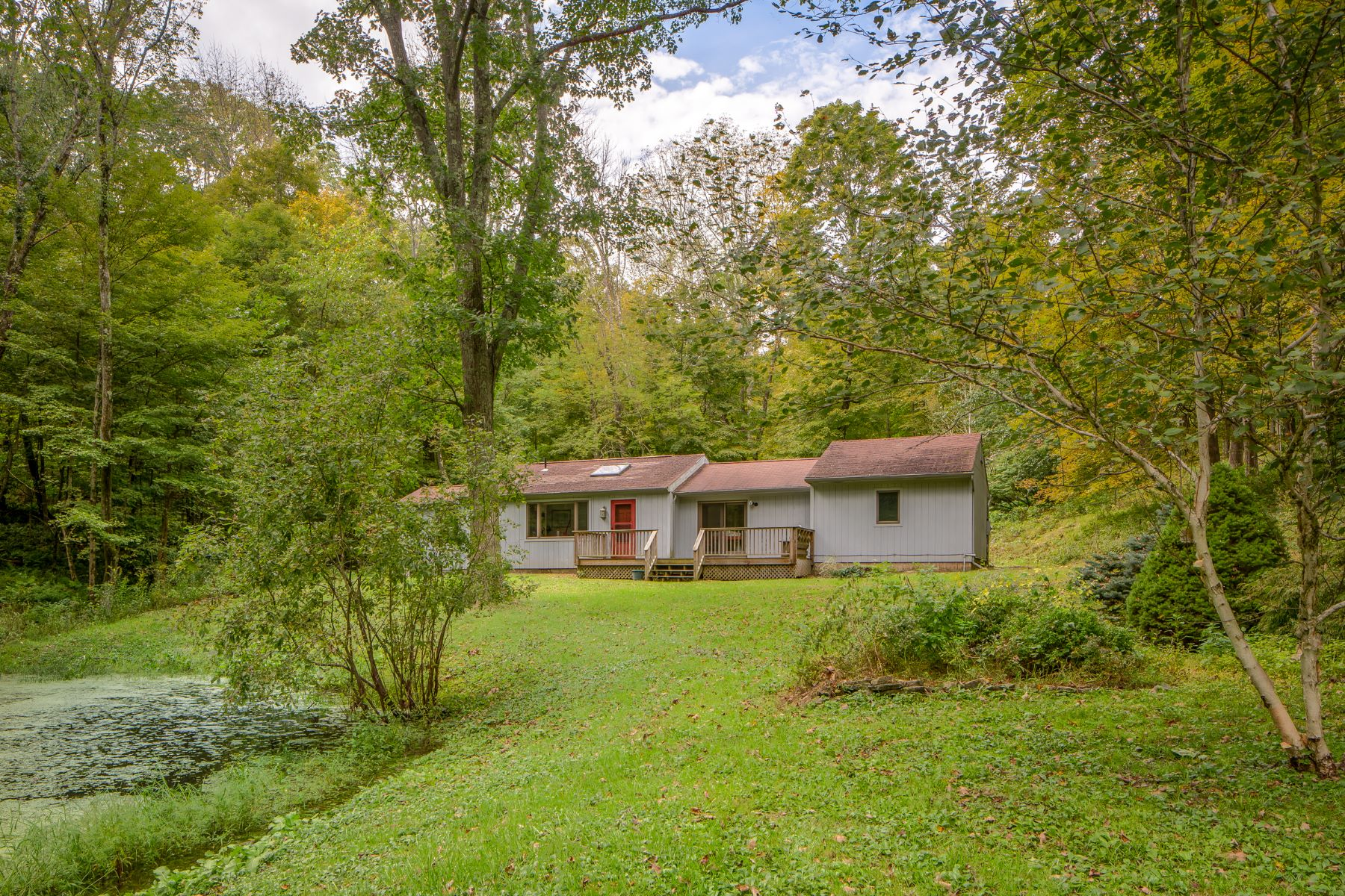 Single Family Home for Active at Stylish Egremont Cottage with Stream and Pond 15 Oxbow Rd Egremont, Massachusetts 01230 United States
