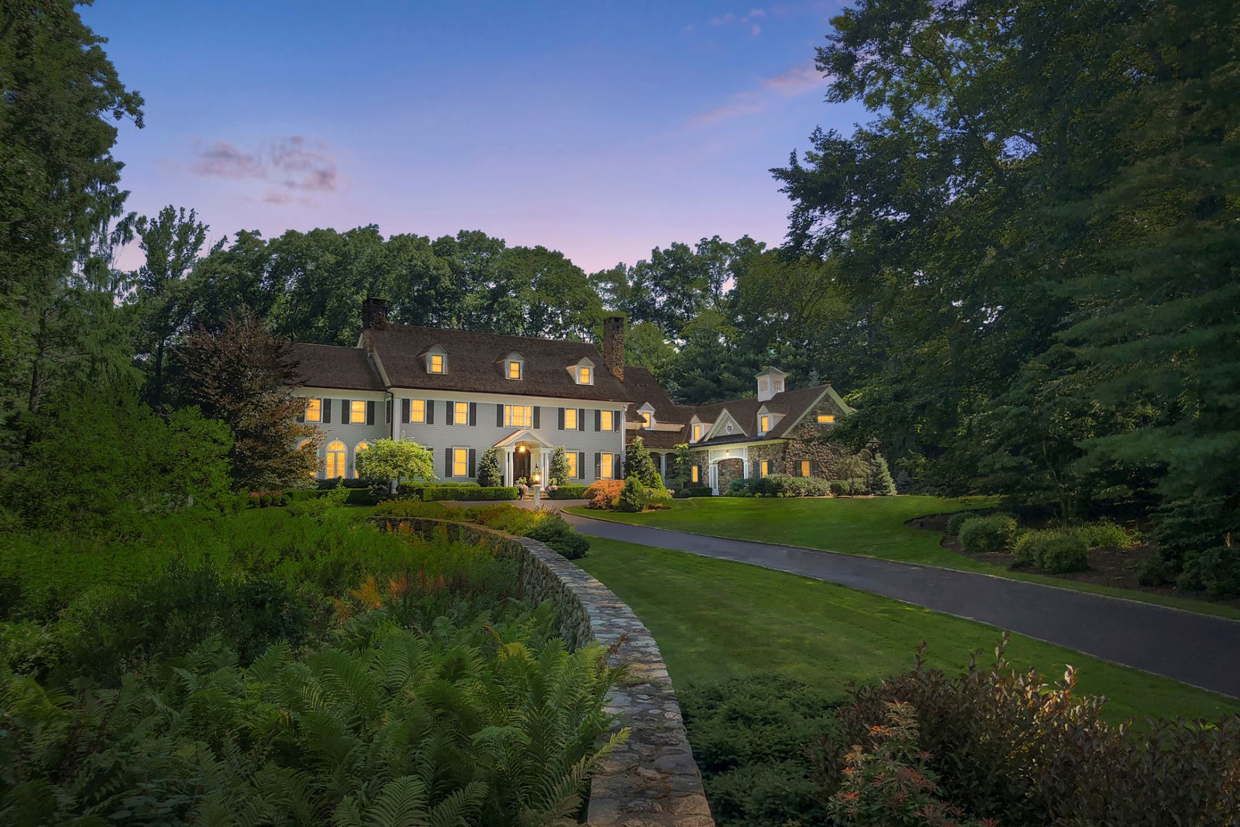 Single Family Homes for Active at Stately Home and Grounds in West Road Enclave 709 West Road New Canaan, Connecticut 06840 United States