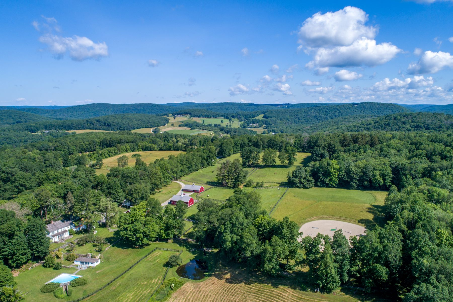 Single Family Home for Sale at Tatetuck Farm 188 Sabbaday Lane Washington, Connecticut, 06794 United States