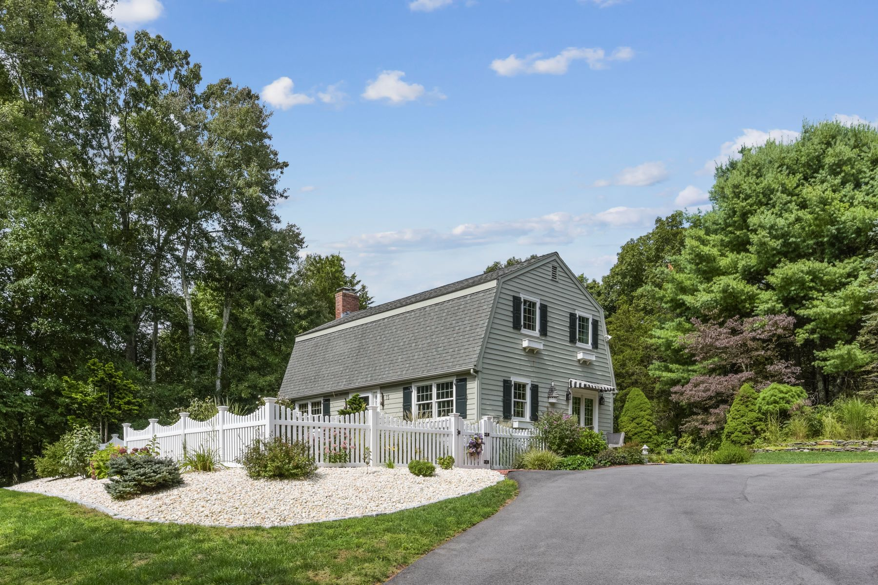 Single Family Homes for Active at This Home is Truly a Gem! 15 Deer Run East Haddam, Connecticut 06423 United States