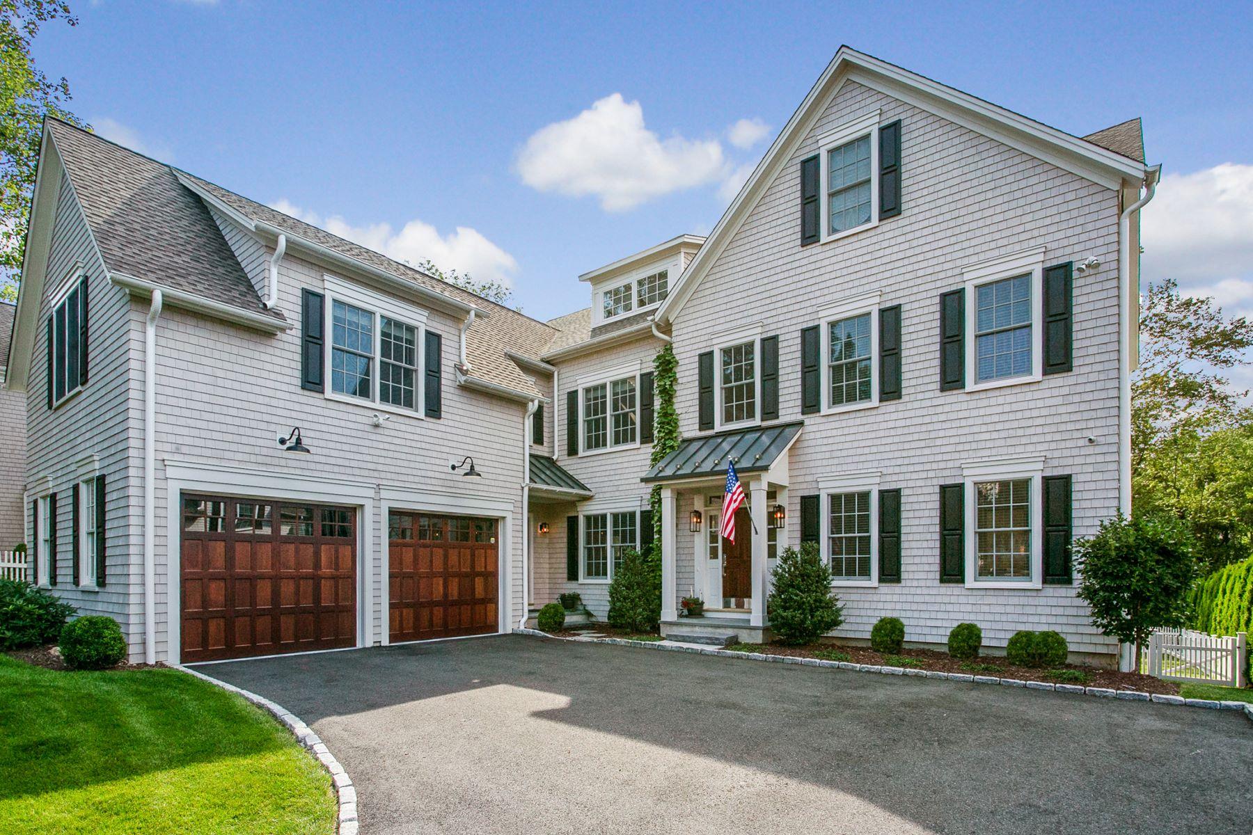 Single Family Homes por un Venta en 37 Witch Lane Norwalk, Connecticut 06853 Estados Unidos