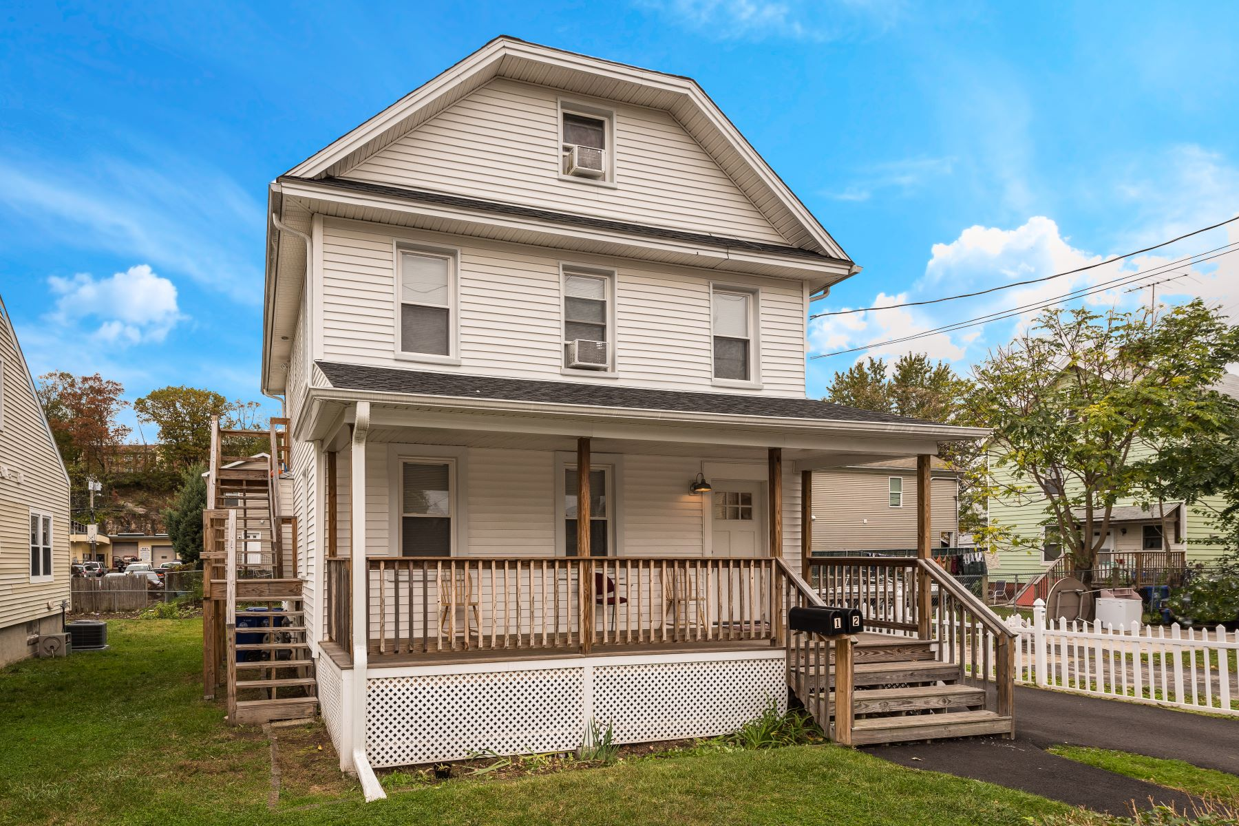 Single Family Home for Sale at SONO Two Family House 1 Lincoln Avenue, Norwalk, Connecticut, 06854 United States