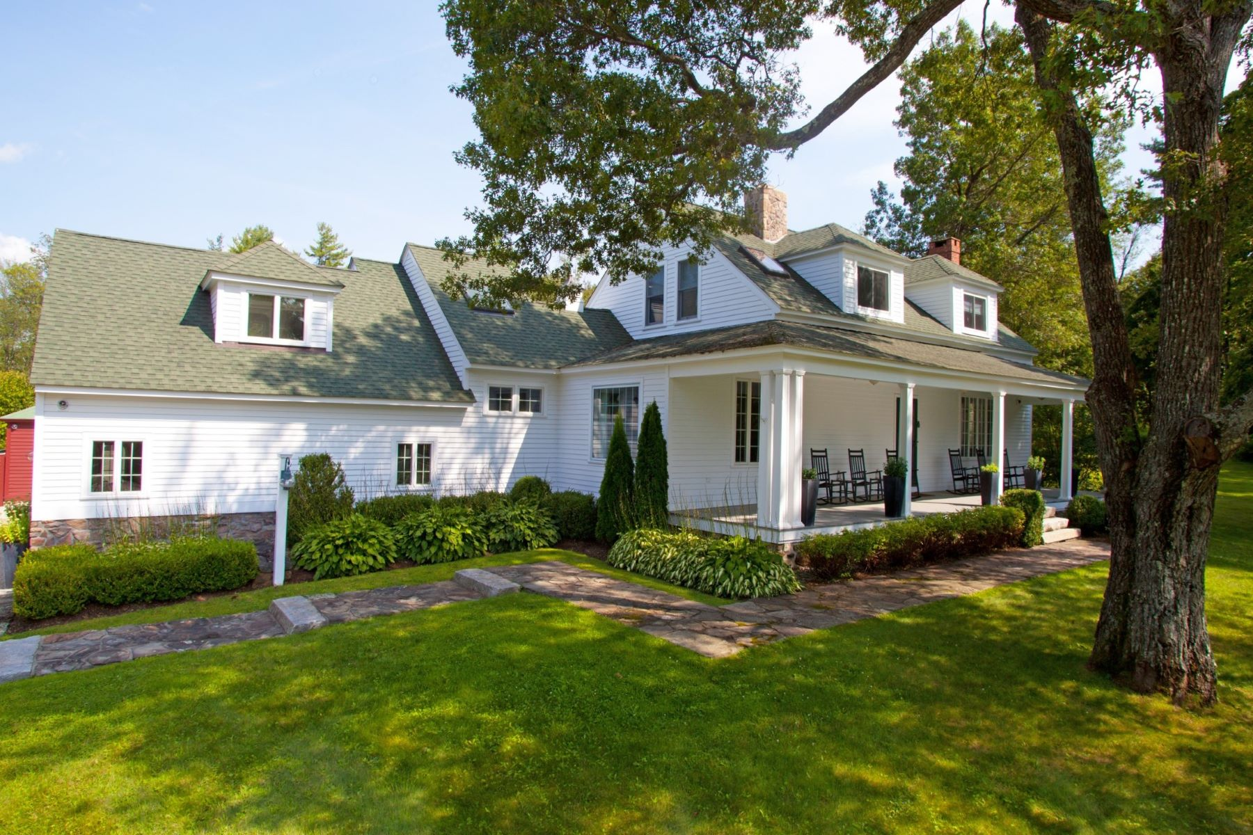 Single Family Homes للـ Sale في Classy 1930 Cape Cod 101 Cornwall Road, Warren, Connecticut 06754 United States