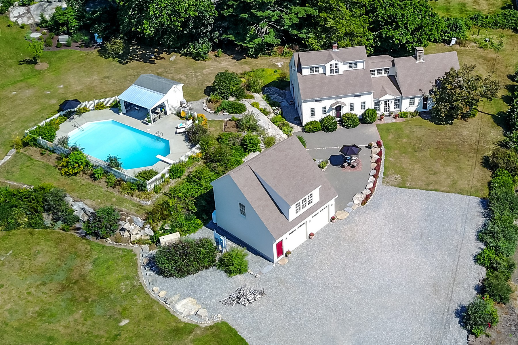 Single Family Homes for Sale at Blending Old with New 500 Noank Road Mystic, Connecticut 06355 United States