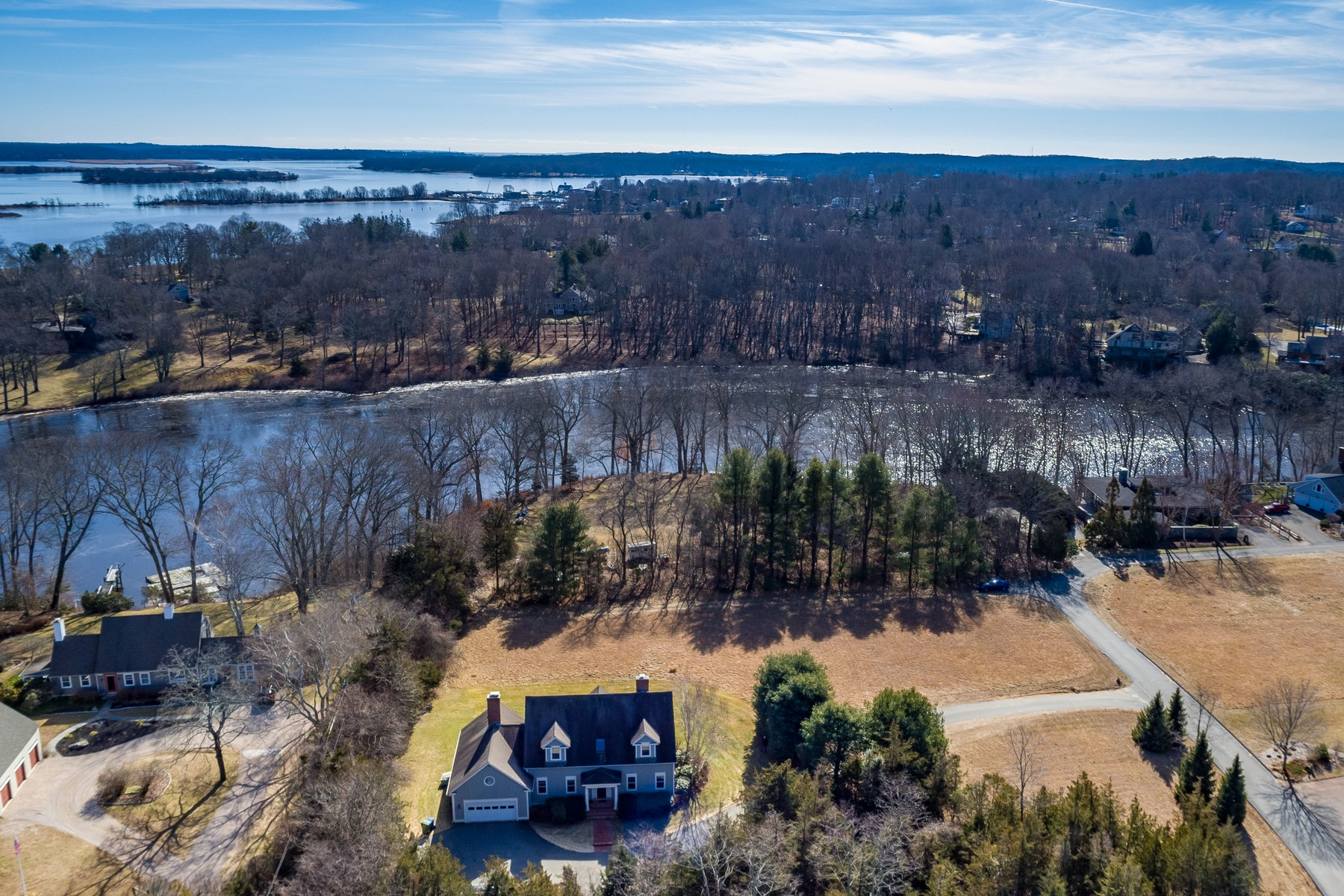 Single Family Home for Sale at Charming Custom Built Home in Coveland Farms 43 River Road, Essex, Connecticut, 06426 United States