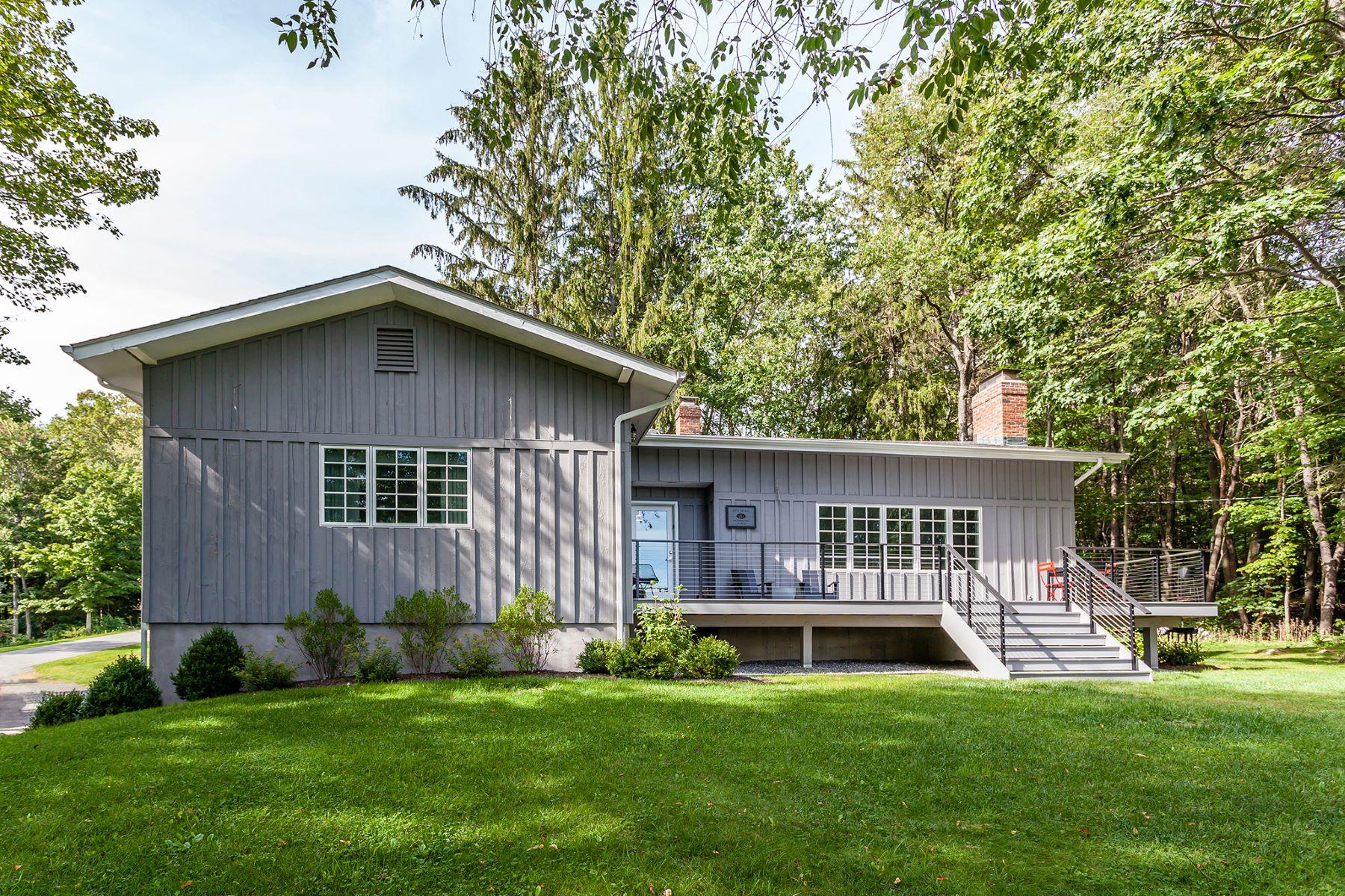Single Family Home for Rent at Lake Waramaug Views 1 Sheehan Road Warren, Connecticut, 06777 United States
