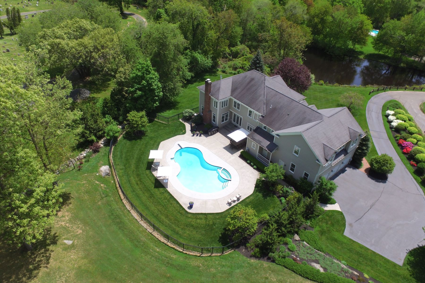 Single Family Homes for Sale at Peter Smith built home 383 Boston Post Road Madison, Connecticut 06443 United States