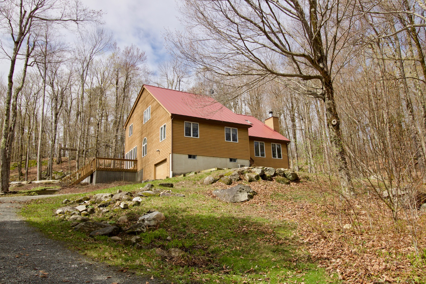 Single Family Home for Active at Spacious, Private and Perfectly Sited County Home! 99 Jacobs Hollow Rd Becket, Massachusetts 01223 United States