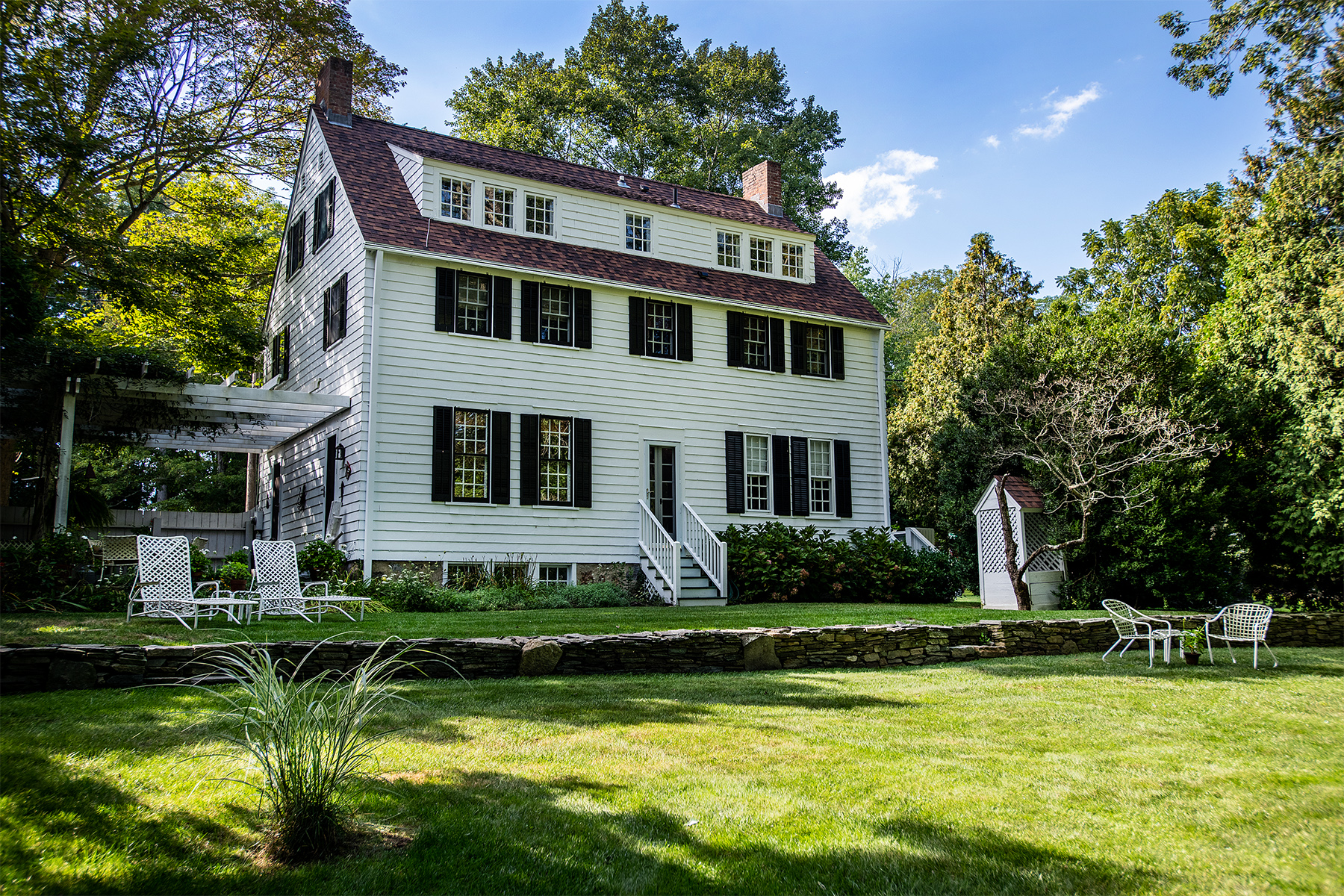 Single Family Homes for Sale at Historical Living with Modern Flair! 95 Lyme Street Old Lyme, Connecticut 06371 United States