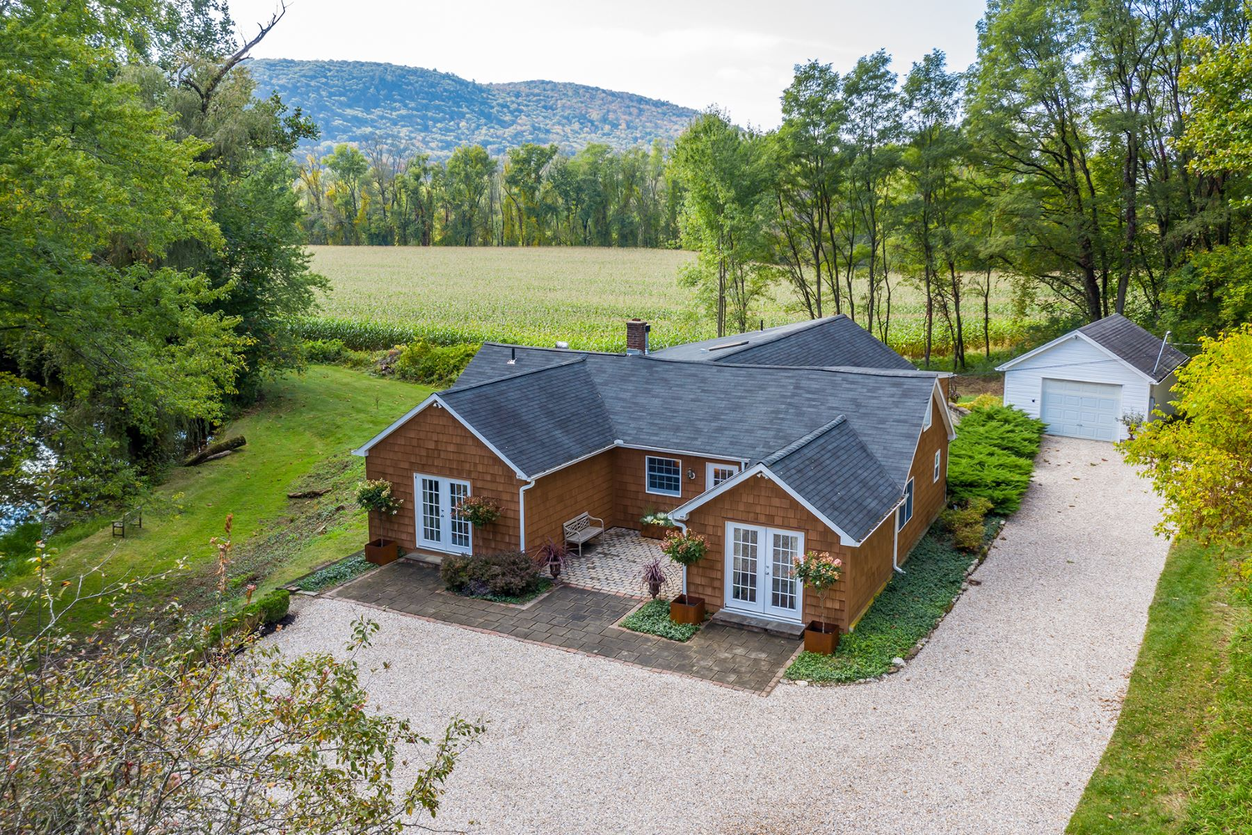 Single Family Homes for Sale at RIVERFRONT CONTEMPORARY, PROTECTED LANDS, VIEWS 15 Belden Street Falls Village, Connecticut 06031 United States